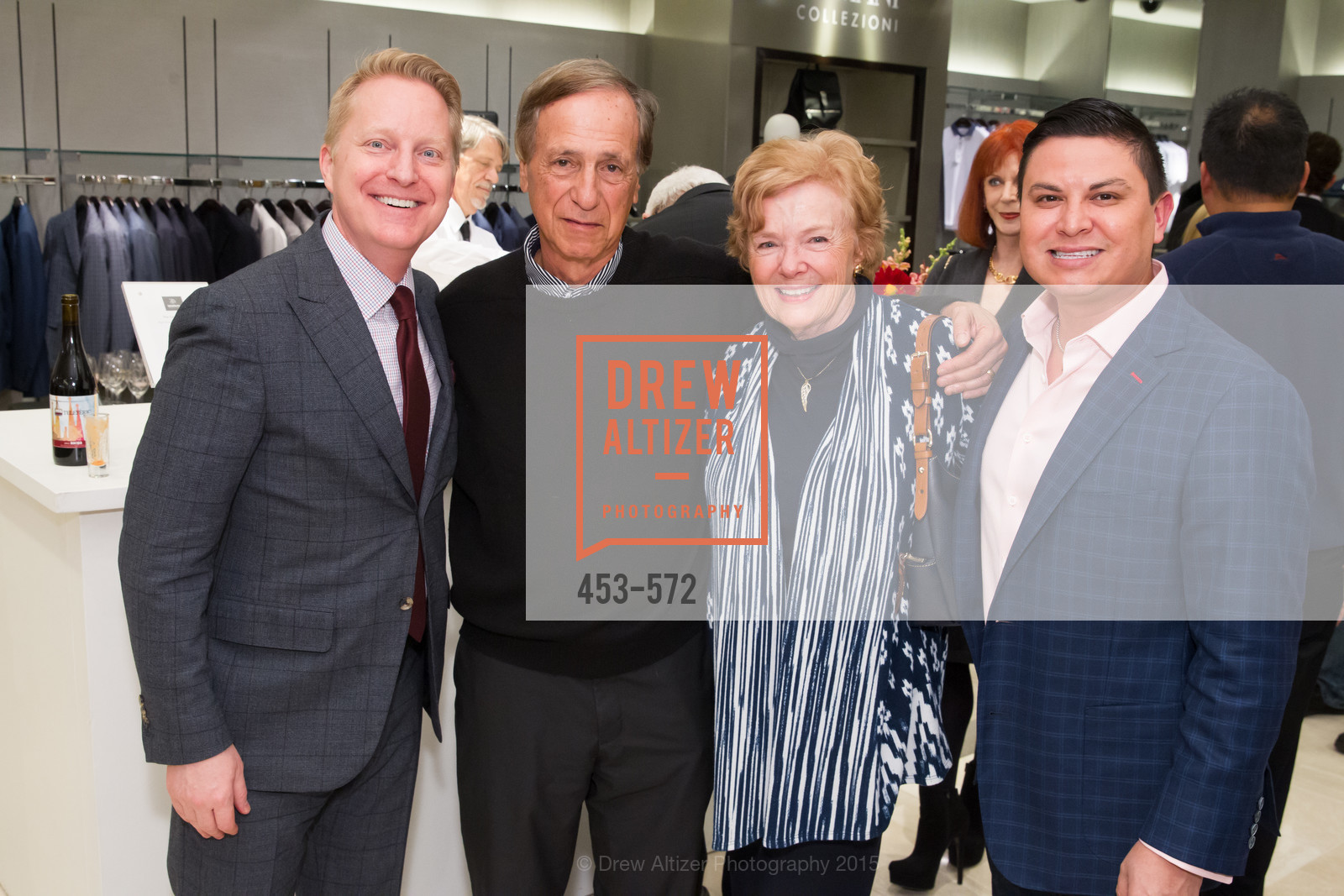 Jamie Broadhurst, Dick Savetnik, Marsha Savetnik, Manny Balbi, Neiman Marcus Walnut Creek welcomes neighbors ROOFTOP and Teleferic Barcelona, Neiman Marcus. 1000 South Main Street, November 20th, 2015,Drew Altizer, Drew Altizer Photography, full-service agency, private events, San Francisco photographer, photographer california