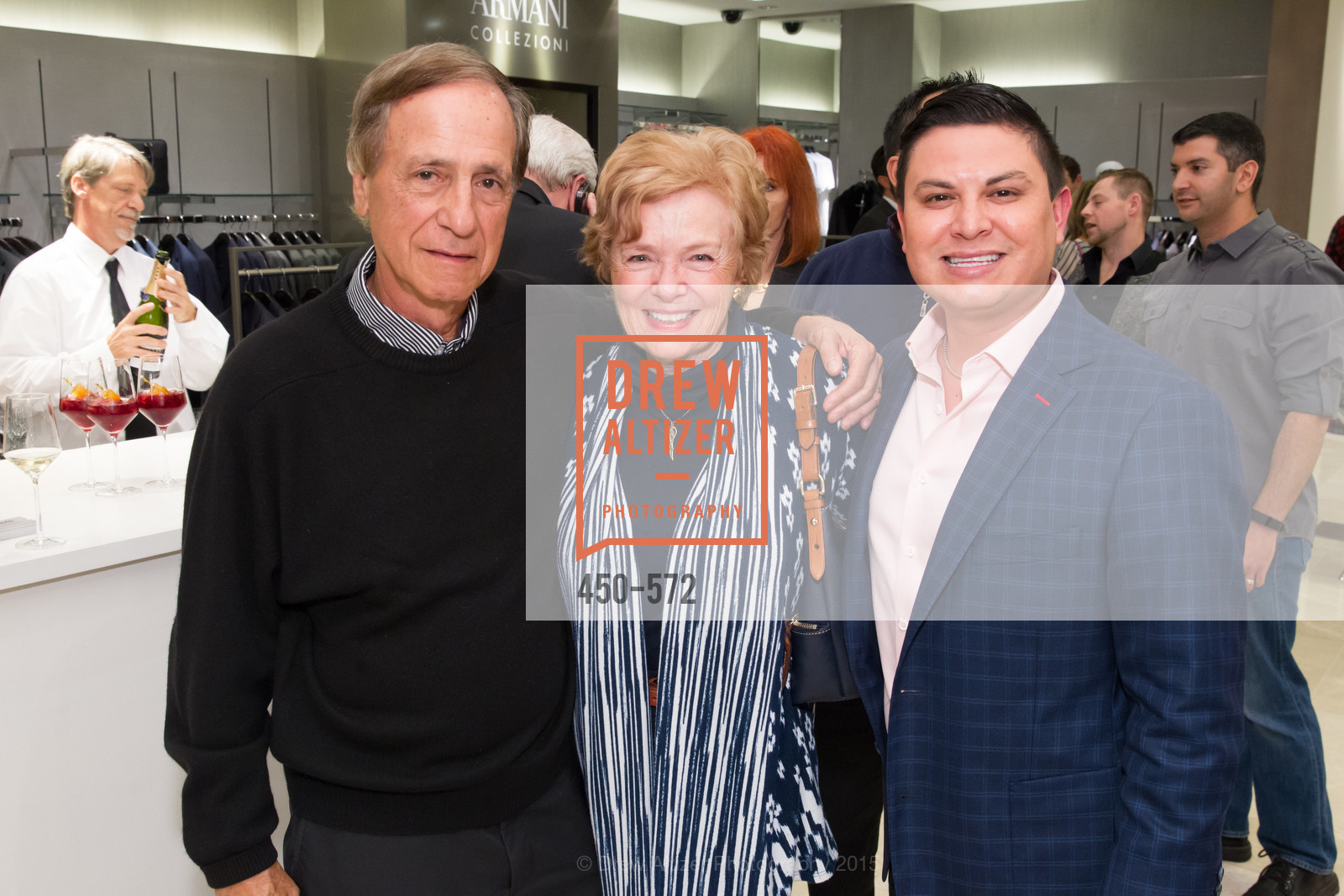Dick Savetnik, Marsha Savetnik, Manny Balbi, Neiman Marcus Walnut Creek welcomes neighbors ROOFTOP and Teleferic Barcelona, Neiman Marcus. 1000 South Main Street, November 20th, 2015,Drew Altizer, Drew Altizer Photography, full-service agency, private events, San Francisco photographer, photographer california