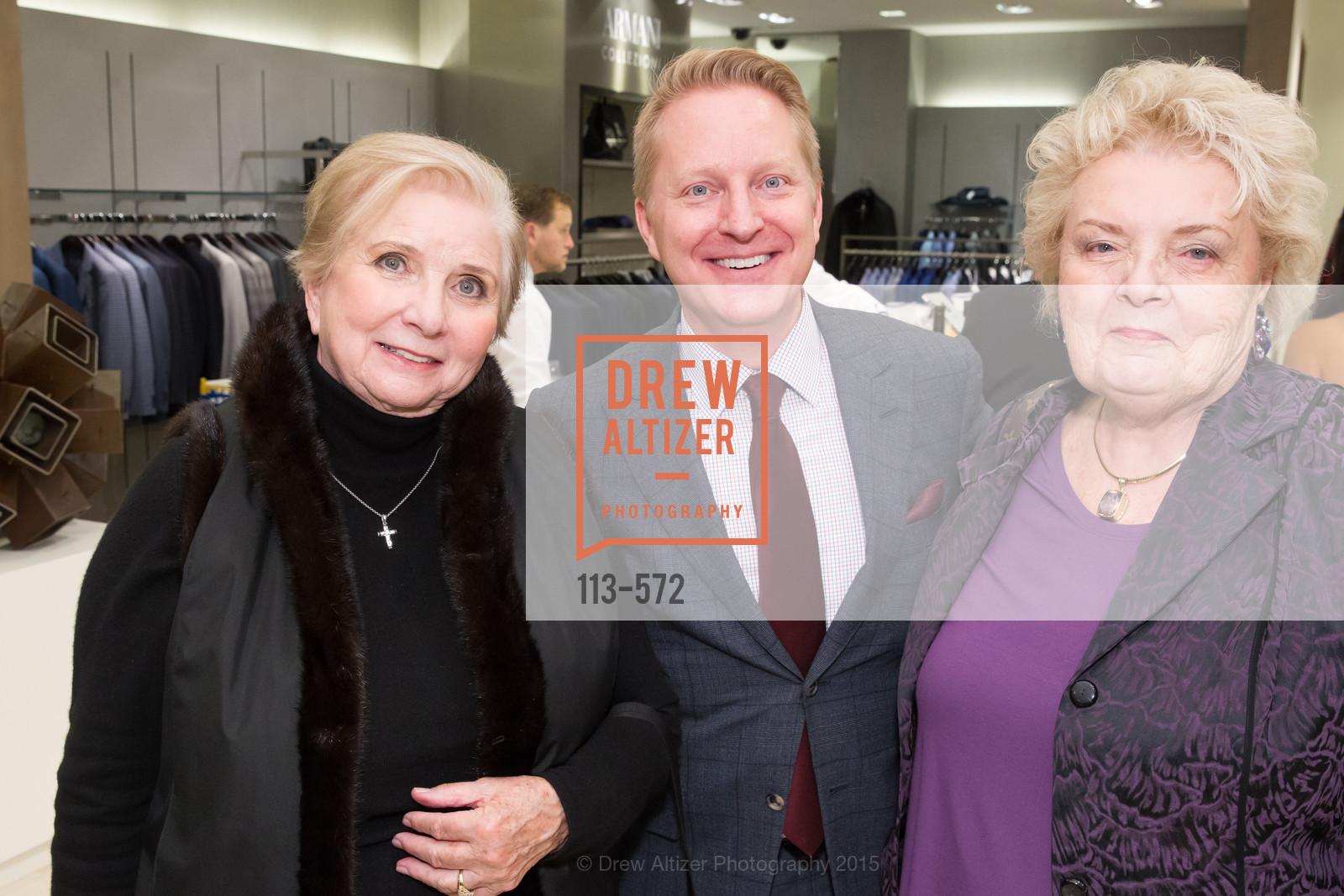 Betty Ann Rock, Jamie Broadhurst, Pat Stull, Photo #113-572