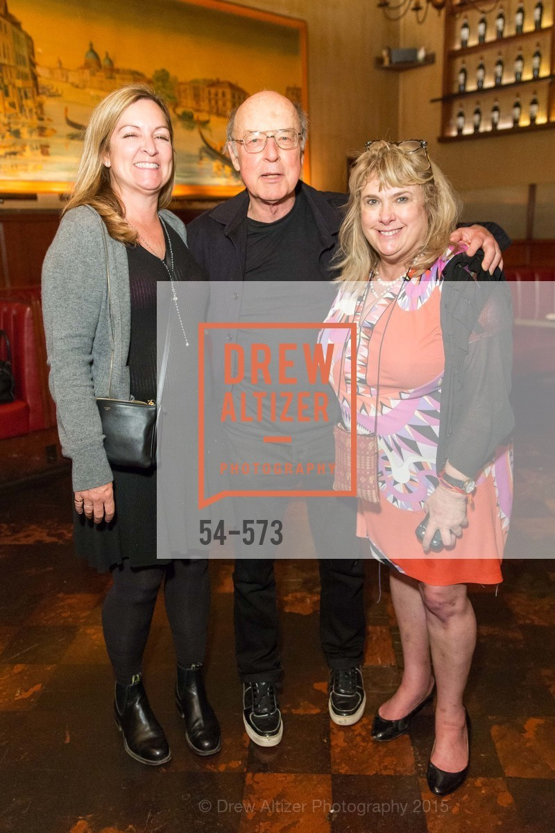 Julie Huntsinger, Tom Luddy, Colleen Camp, The Big Short screening afterparty at Tosca, Tosca. 242 Columbus Ave, November 20th, 2015,Drew Altizer, Drew Altizer Photography, full-service agency, private events, San Francisco photographer, photographer california