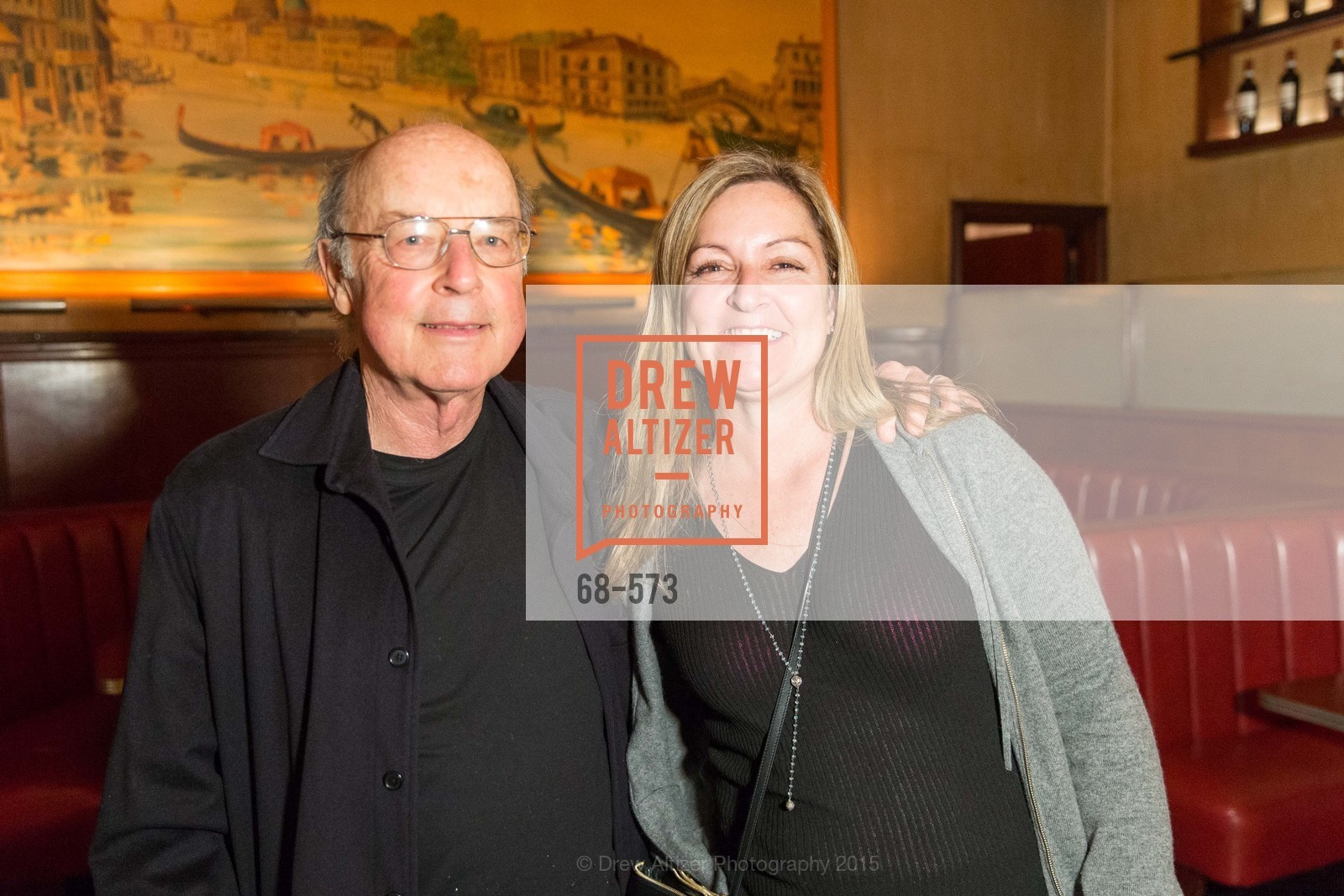 Tom Luddy, Julie Huntsinger, The Big Short screening afterparty at Tosca, Tosca. 242 Columbus Ave, November 20th, 2015,Drew Altizer, Drew Altizer Photography, full-service agency, private events, San Francisco photographer, photographer california