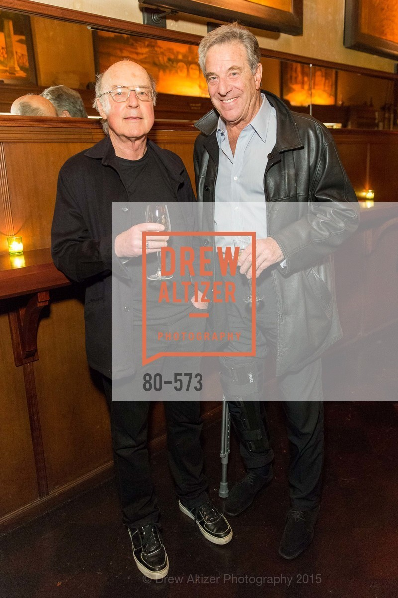 Tom Luddy, Paul Pelosi, The Big Short screening afterparty at Tosca, Tosca. 242 Columbus Ave, November 20th, 2015,Drew Altizer, Drew Altizer Photography, full-service agency, private events, San Francisco photographer, photographer california
