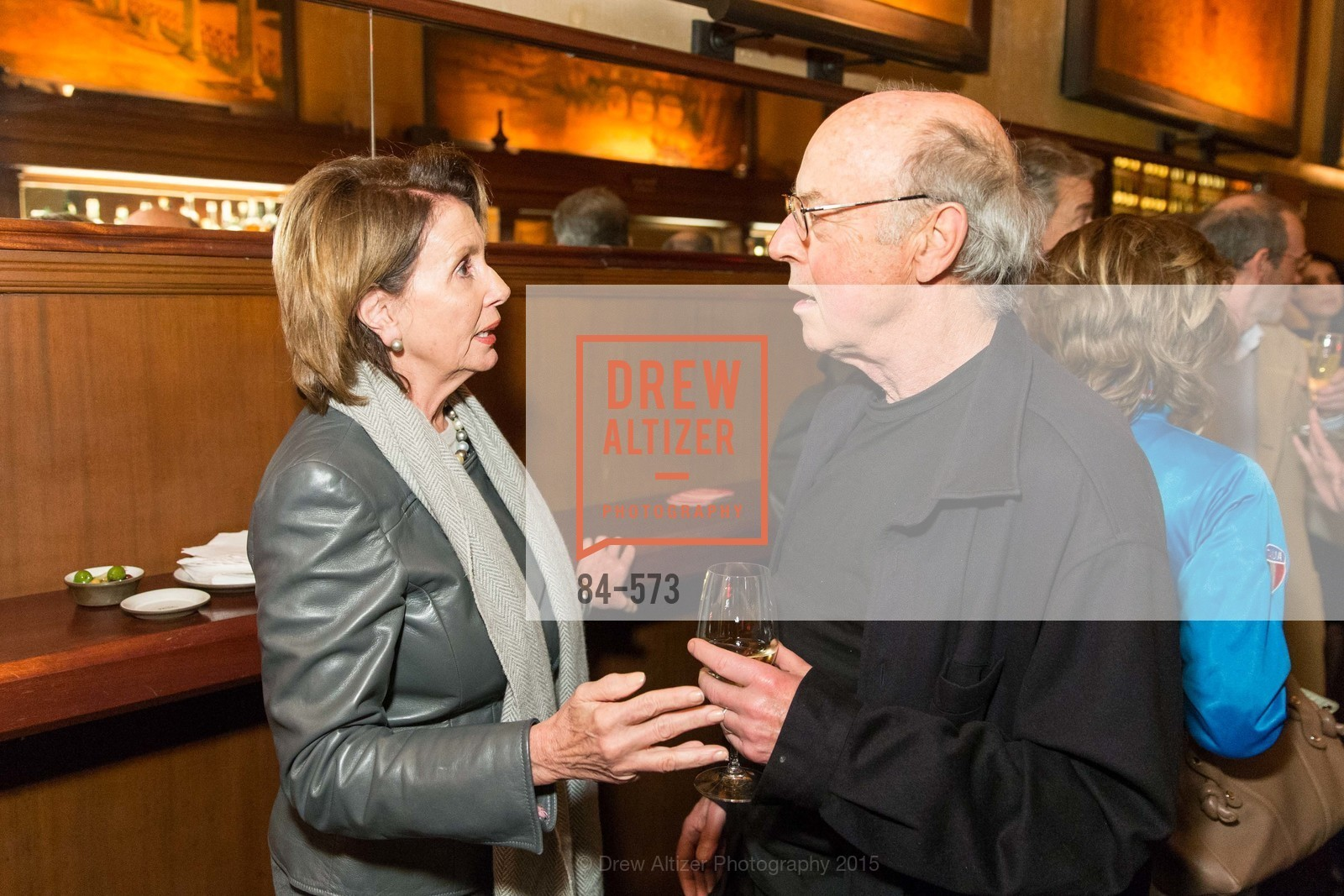 Nancy Pelosi, Tom Luddy, The Big Short screening afterparty at Tosca, Tosca. 242 Columbus Ave, November 20th, 2015,Drew Altizer, Drew Altizer Photography, full-service agency, private events, San Francisco photographer, photographer california