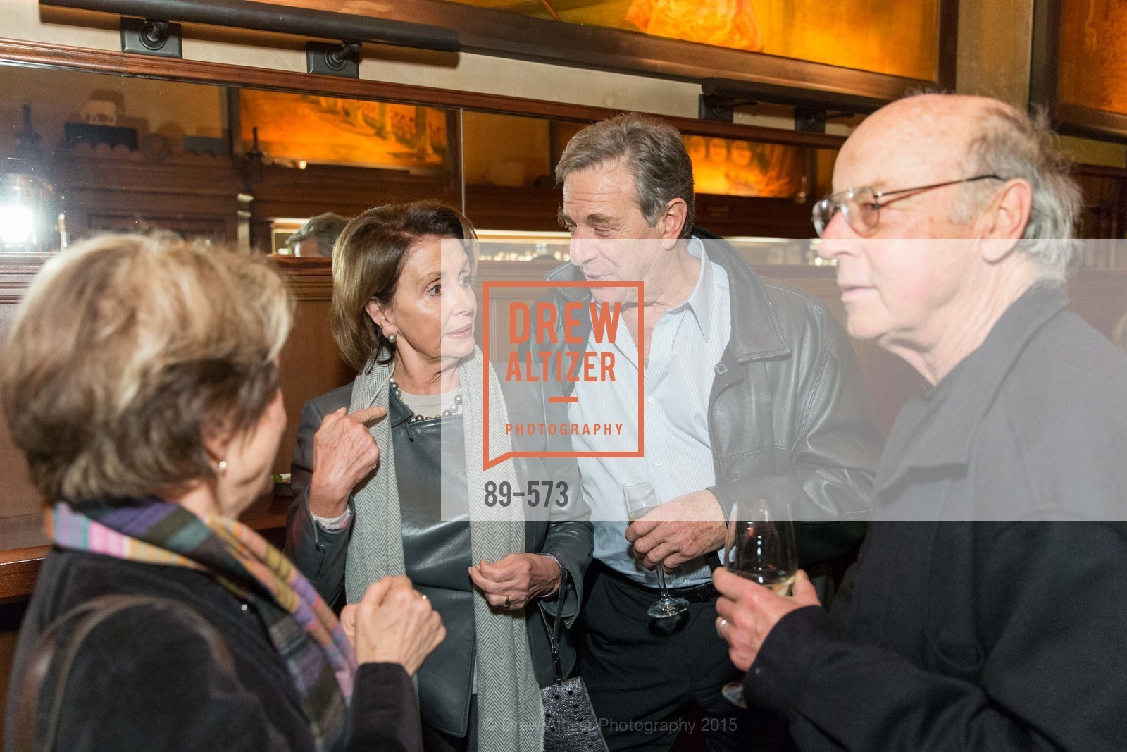 Alice Waters, Nancy Pelosi, Paul Pelosi, Tom , Luddy, The Big Short screening afterparty at Tosca, Tosca. 242 Columbus Ave, November 20th, 2015,Drew Altizer, Drew Altizer Photography, full-service agency, private events, San Francisco photographer, photographer california