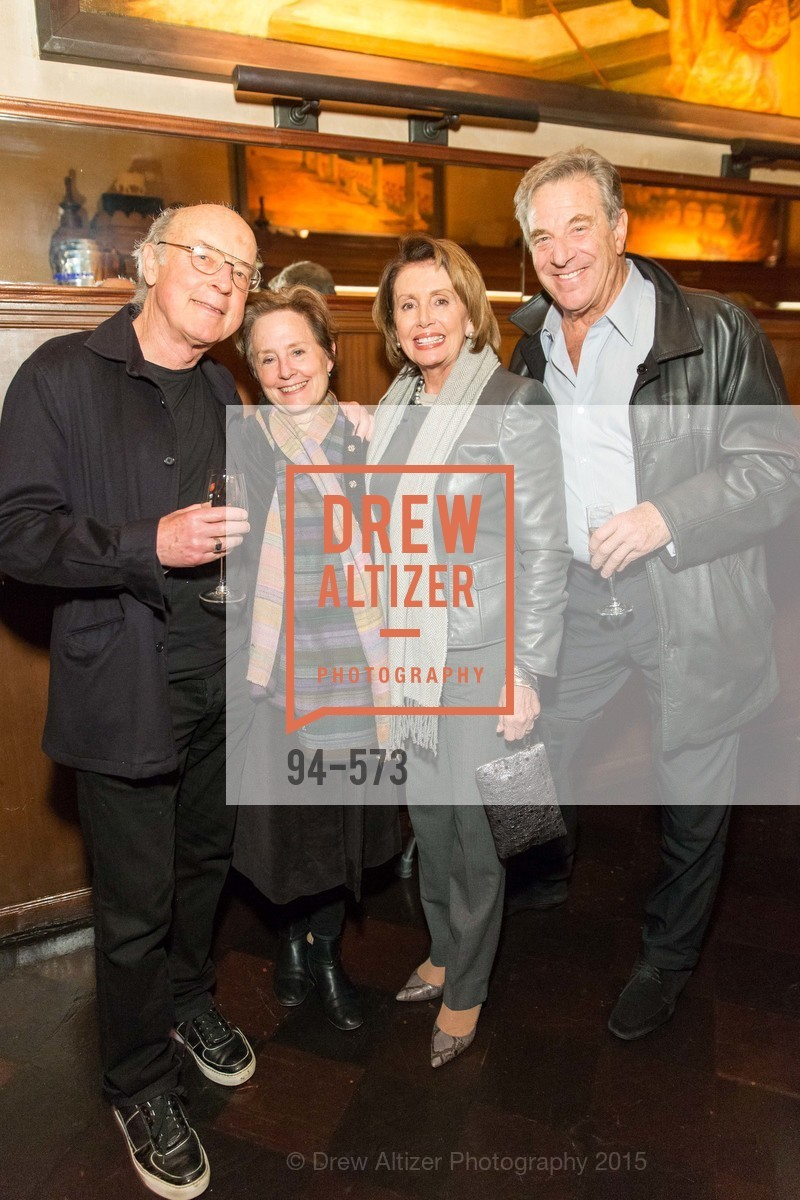 Tom Luddy, Alice Waters, Nancy Pelosi, Paul Pelosi, The Big Short screening afterparty at Tosca, Tosca. 242 Columbus Ave, November 20th, 2015,Drew Altizer, Drew Altizer Photography, full-service agency, private events, San Francisco photographer, photographer california