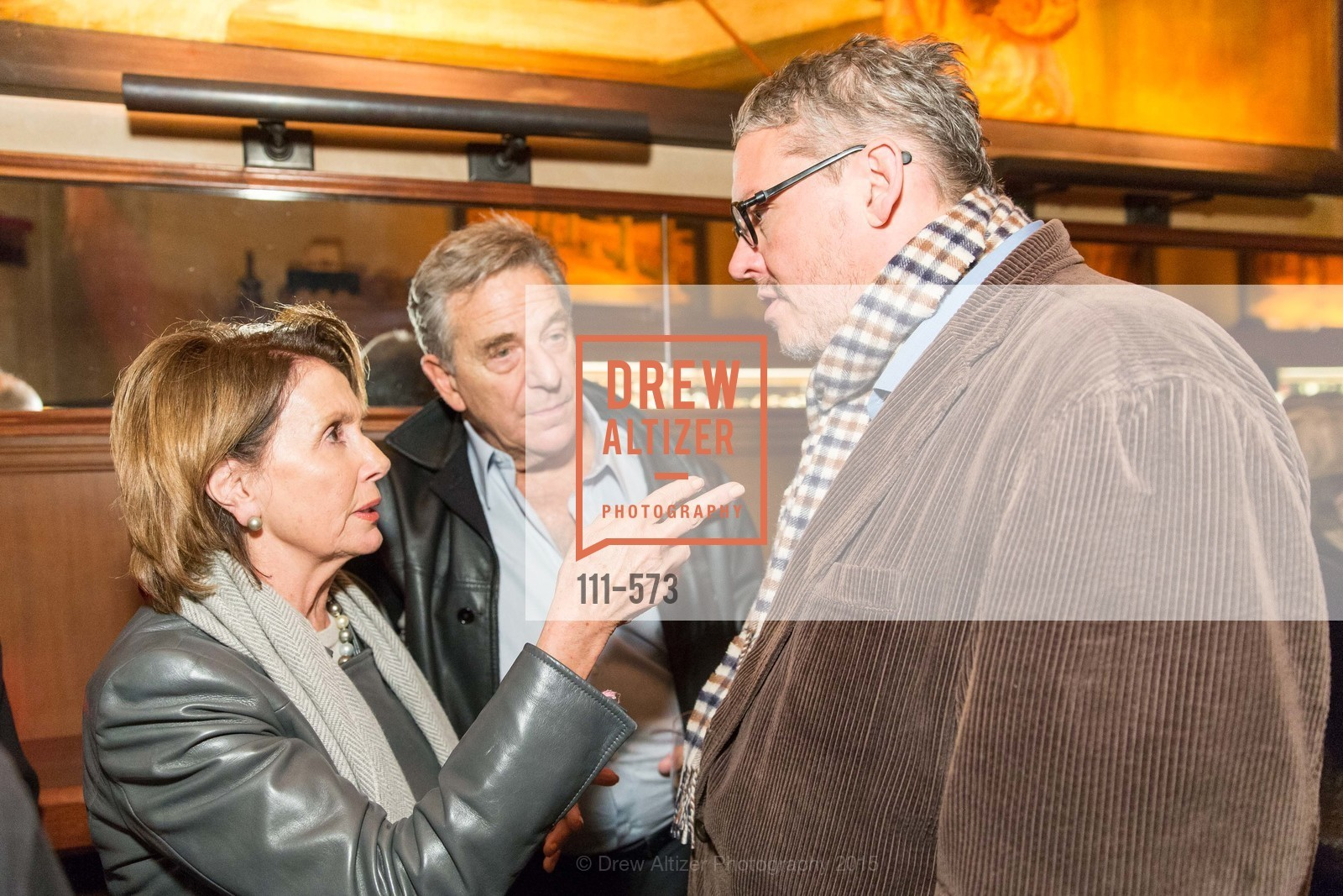 Nancy Pelosi, Paul Pelosi, Adam McKay, The Big Short screening afterparty at Tosca, Tosca. 242 Columbus Ave, November 20th, 2015,Drew Altizer, Drew Altizer Photography, full-service agency, private events, San Francisco photographer, photographer california