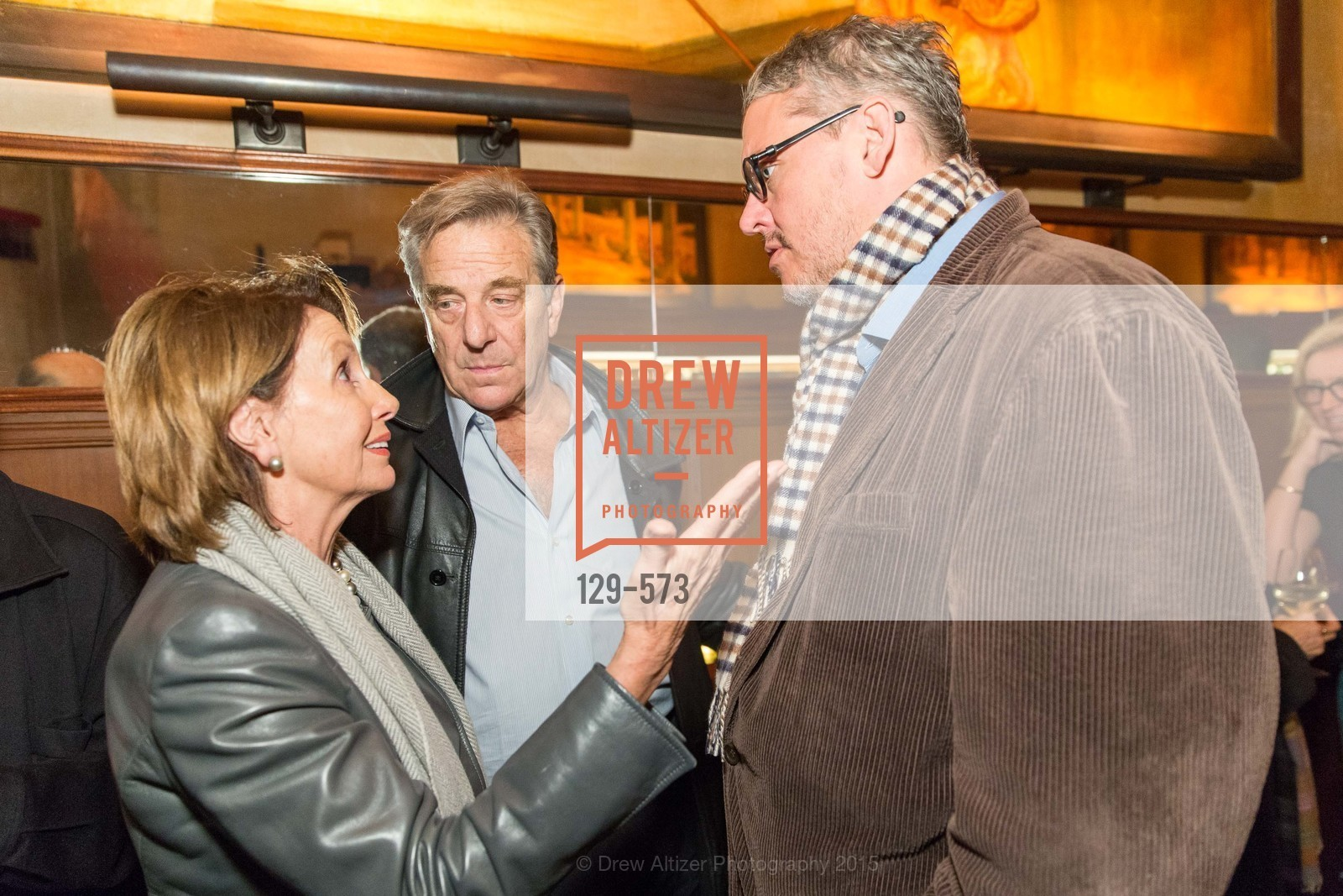 Nancy Pelosi, Paul Pelosi, Adam McKay, The Big Short screening afterparty at Tosca, Tosca. 242 Columbus Ave, November 20th, 2015,Drew Altizer, Drew Altizer Photography, full-service event agency, private events, San Francisco photographer, photographer California