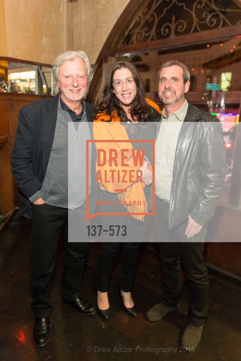 Phil Kauffman, Christine Pelosi, Peter Kauffman, The Big Short screening afterparty at Tosca, Tosca. 242 Columbus Ave, November 20th, 2015,Drew Altizer, Drew Altizer Photography, full-service agency, private events, San Francisco photographer, photographer california
