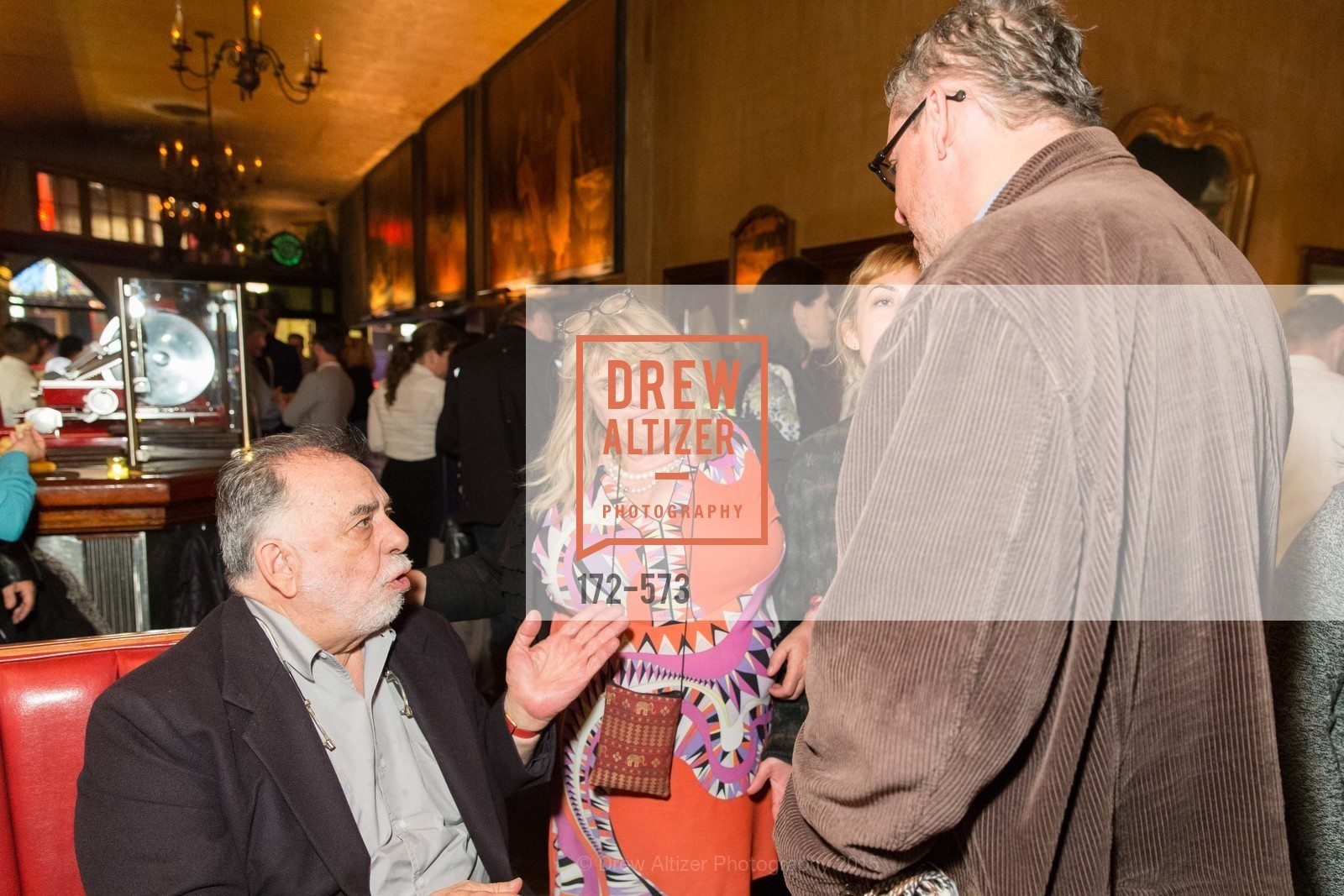 Francis Ford Coppola, Colleen Camp, Gia Coppola, Adam McKay, The Big Short screening afterparty at Tosca, Tosca. 242 Columbus Ave, November 20th, 2015,Drew Altizer, Drew Altizer Photography, full-service event agency, private events, San Francisco photographer, photographer California