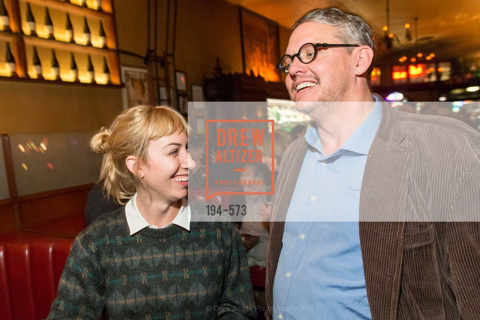 Gia Coppola, Adam McKay, The Big Short screening afterparty at Tosca, Tosca. 242 Columbus Ave, November 20th, 2015,Drew Altizer, Drew Altizer Photography, full-service agency, private events, San Francisco photographer, photographer california
