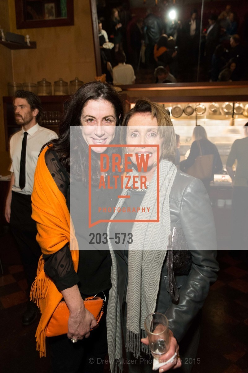 Christine Pelosi, Nancy Pelosi, The Big Short screening afterparty at Tosca, Tosca. 242 Columbus Ave, November 20th, 2015