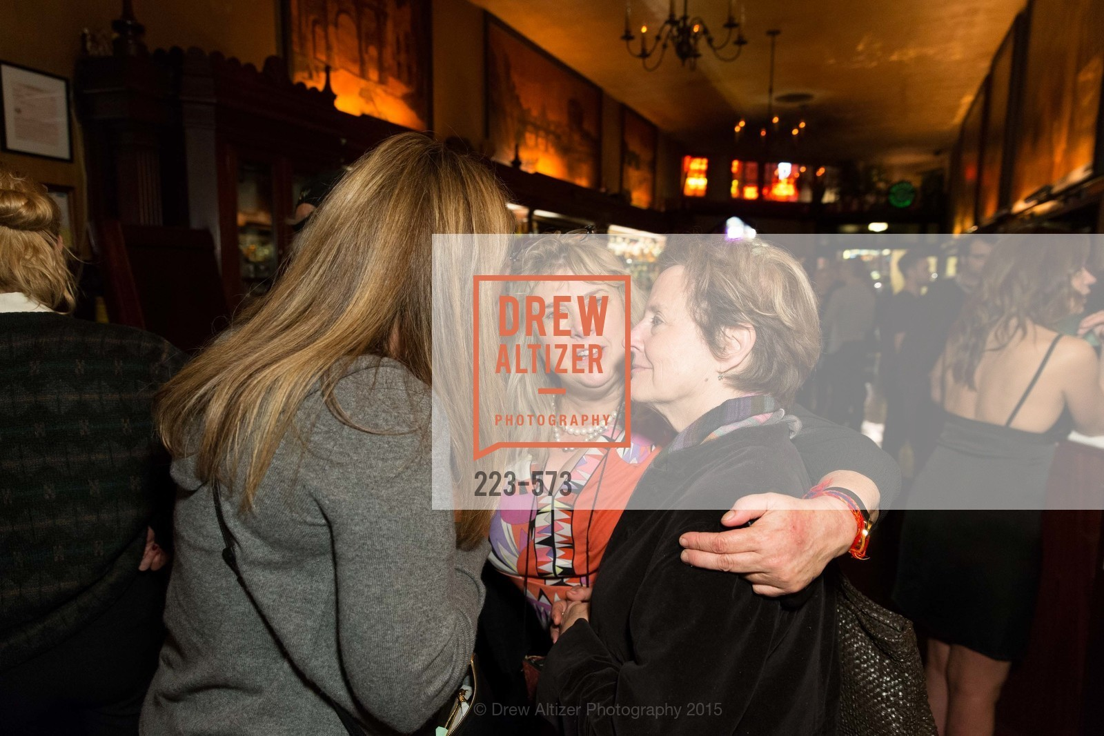 Julie Huntsinger, Colleen Camp, Alice Waters, The Big Short screening afterparty at Tosca, Tosca. 242 Columbus Ave, November 20th, 2015,Drew Altizer, Drew Altizer Photography, full-service event agency, private events, San Francisco photographer, photographer California