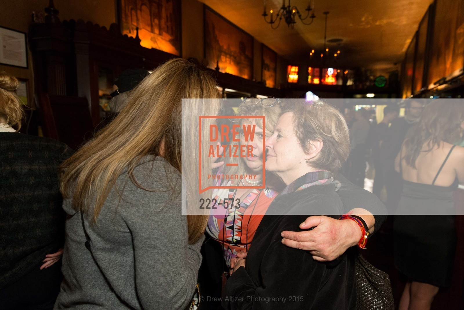 Julie Huntsinger, Colleen Camp, Alice Waters, The Big Short screening afterparty at Tosca, Tosca. 242 Columbus Ave, November 20th, 2015,Drew Altizer, Drew Altizer Photography, full-service agency, private events, San Francisco photographer, photographer california