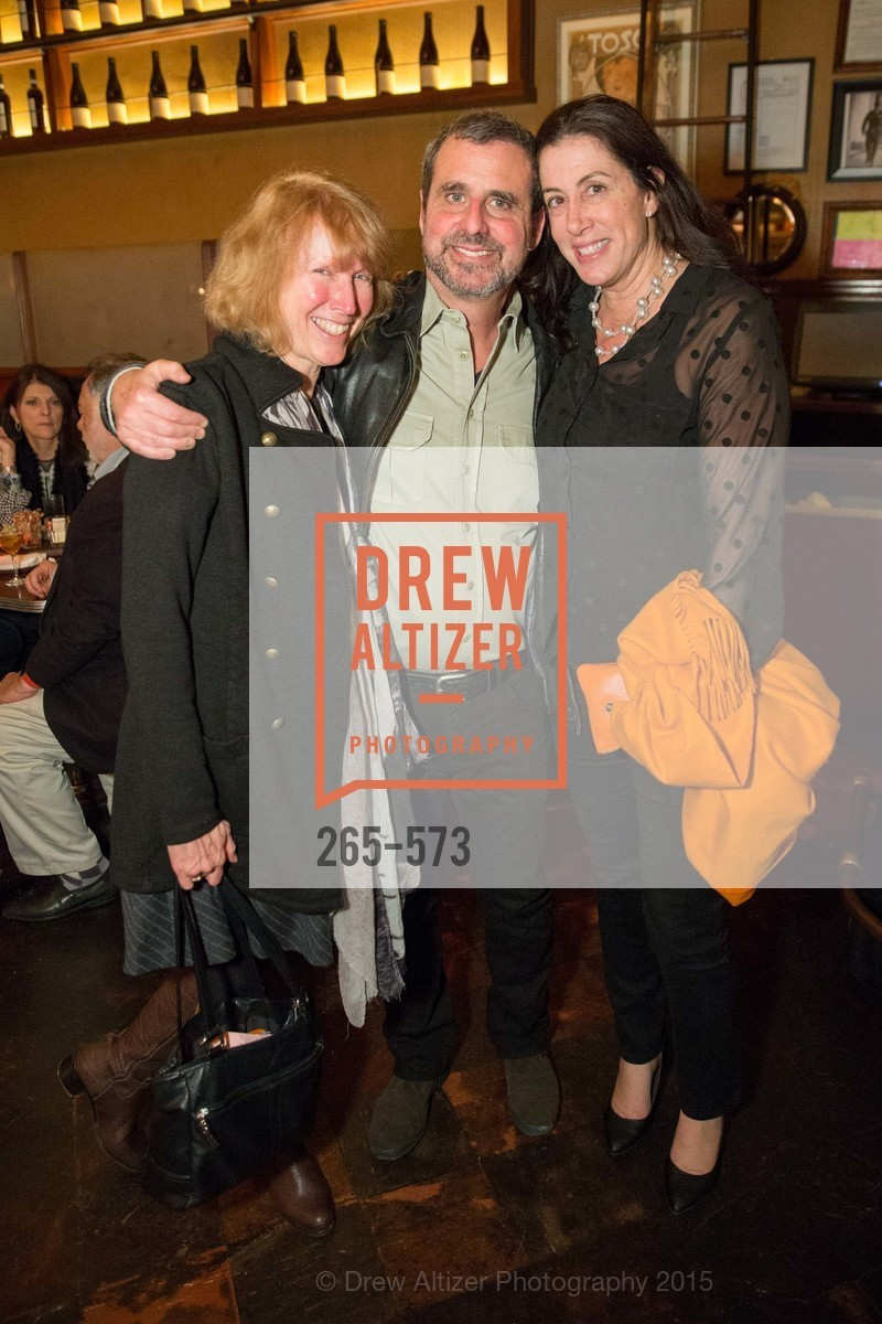Lynne Hale, Peter Kauffman, Christine Pelosi, The Big Short screening afterparty at Tosca, Tosca. 242 Columbus Ave, November 20th, 2015,Drew Altizer, Drew Altizer Photography, full-service event agency, private events, San Francisco photographer, photographer California