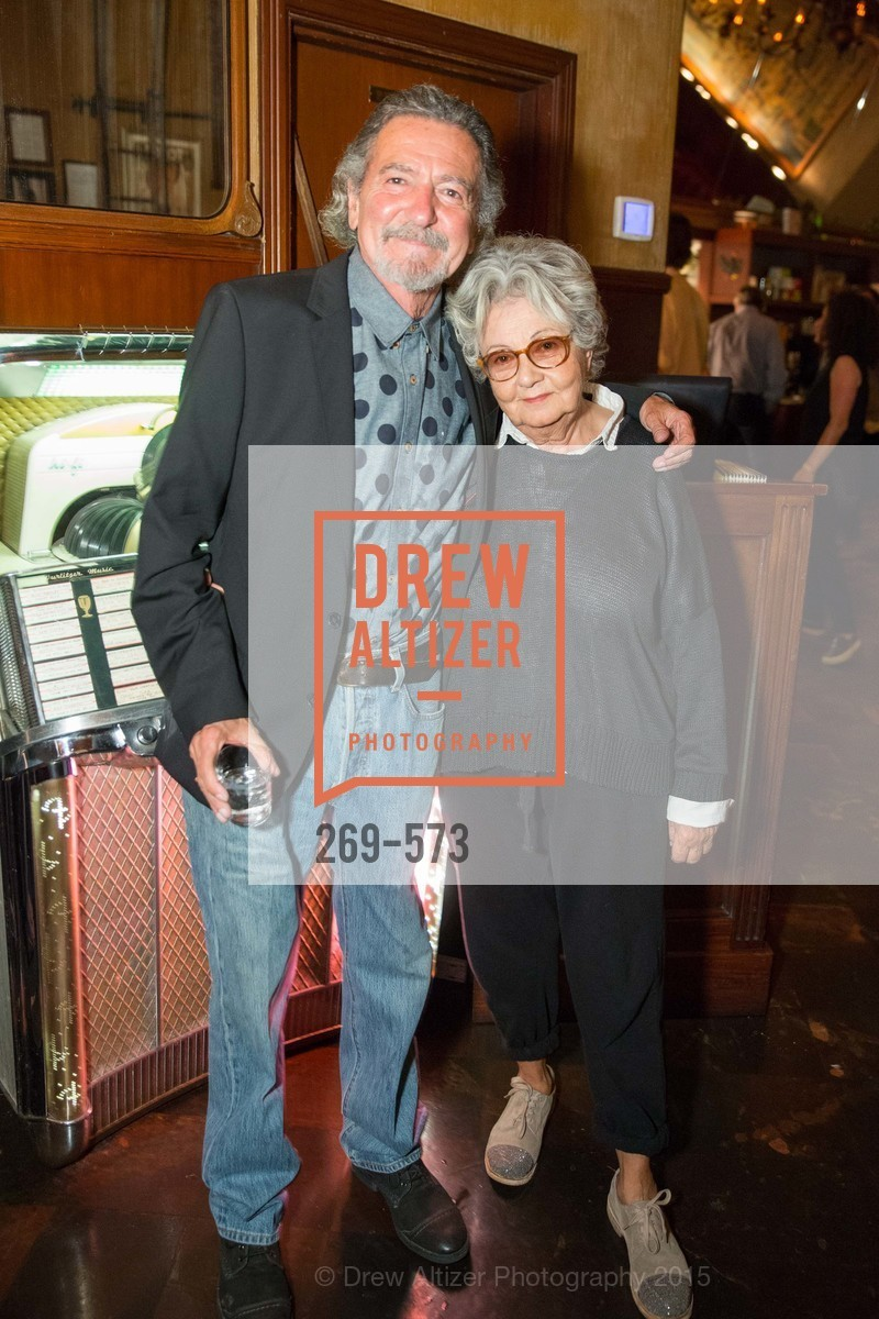 Don Novello, Jeanette Etheredge, The Big Short screening afterparty at Tosca, Tosca. 242 Columbus Ave, November 20th, 2015,Drew Altizer, Drew Altizer Photography, full-service agency, private events, San Francisco photographer, photographer california