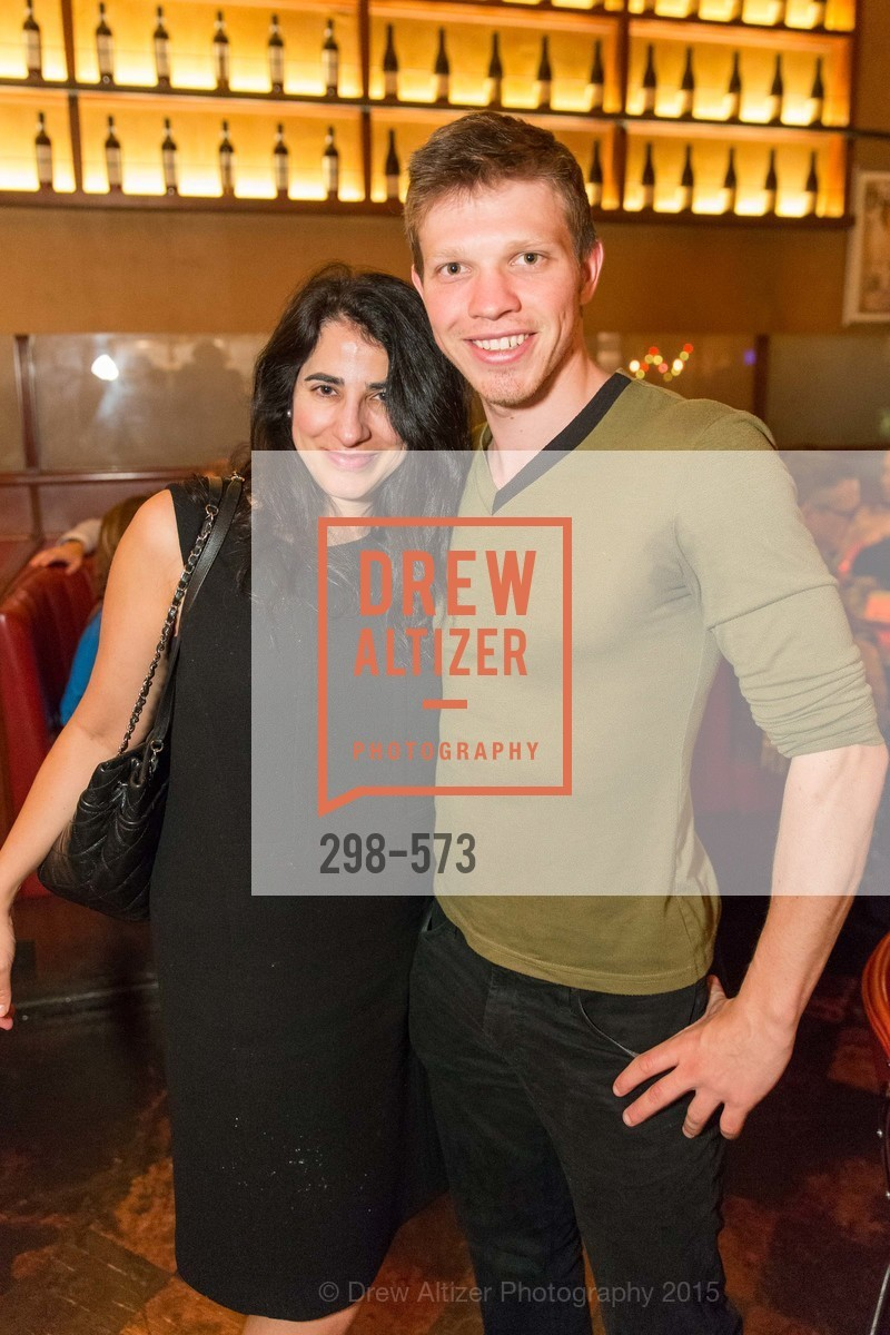Laura Rowman, John Uke, The Big Short screening afterparty at Tosca, Tosca. 242 Columbus Ave, November 20th, 2015,Drew Altizer, Drew Altizer Photography, full-service event agency, private events, San Francisco photographer, photographer California