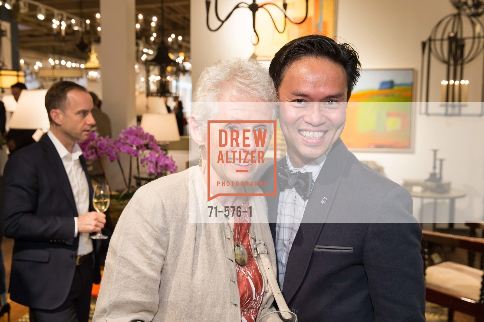 Pat Lamarre, Jonathan Rachman, SF FALL ANTIQUES SHOW Designer's Circle Cocktail Party at HEWN, US, September 23rd, 2014,Drew Altizer, Drew Altizer Photography, full-service agency, private events, San Francisco photographer, photographer california
