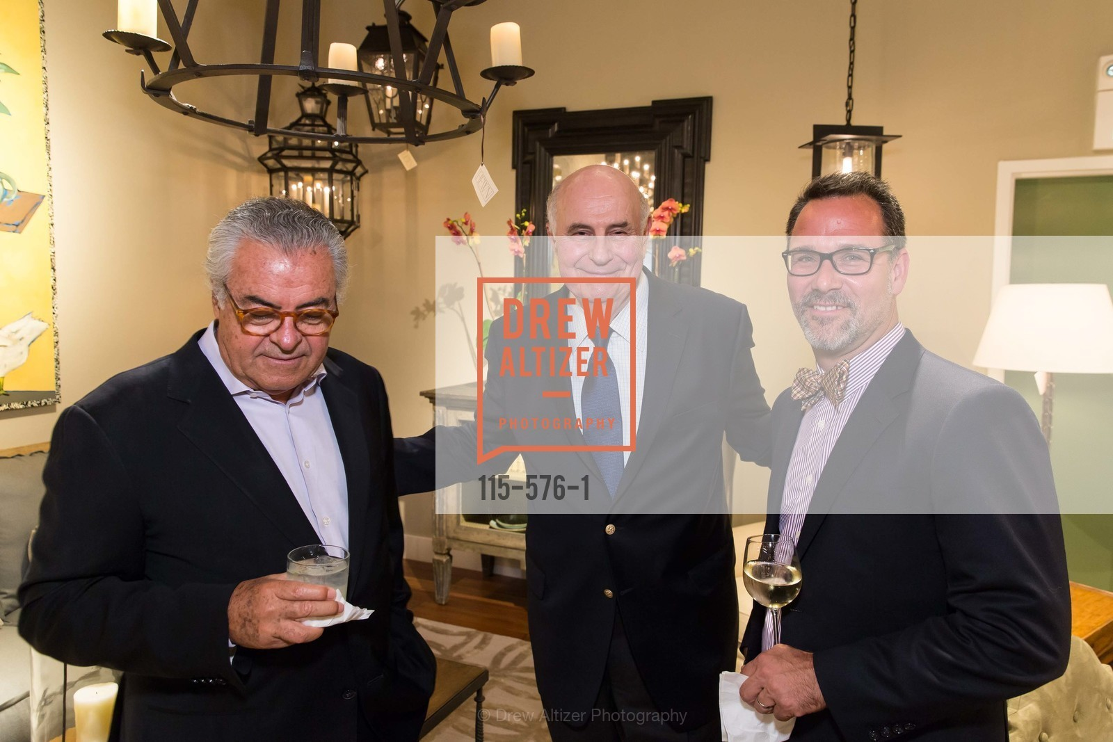 Alphonso Marina, Bob Fernbacher, John Cattich, SF FALL ANTIQUES SHOW Designer's Circle Cocktail Party at HEWN, US, September 23rd, 2014,Drew Altizer, Drew Altizer Photography, full-service agency, private events, San Francisco photographer, photographer california