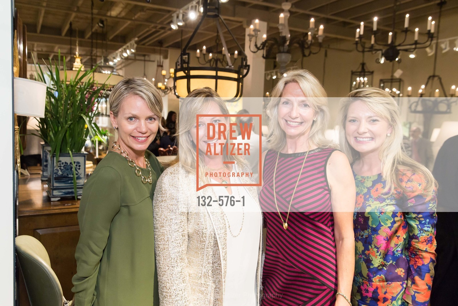 Christy Will, Anastasia Faiella, Kathy Geissler Best, Erin Calihan, SF FALL ANTIQUES SHOW Designer's Circle Cocktail Party at HEWN, US, September 23rd, 2014,Drew Altizer, Drew Altizer Photography, full-service agency, private events, San Francisco photographer, photographer california