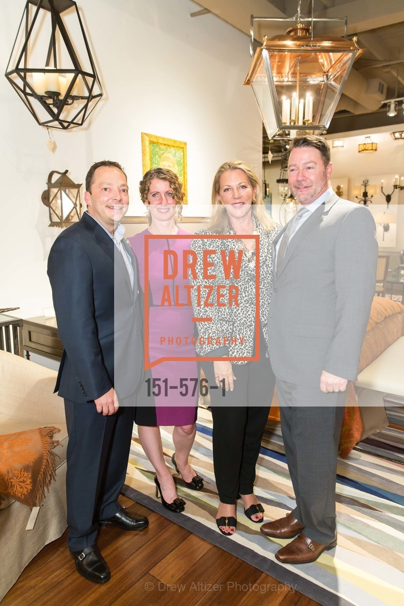 Peter West, Kathleen Navarra, Suzanne Tucker, Jeff Holt, SF FALL ANTIQUES SHOW Designer's Circle Cocktail Party at HEWN, US, September 23rd, 2014,Drew Altizer, Drew Altizer Photography, full-service event agency, private events, San Francisco photographer, photographer California