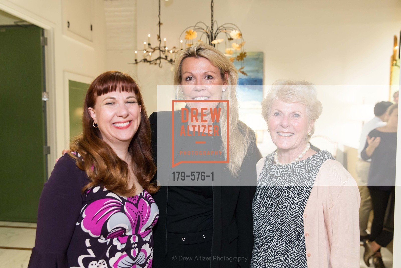Carrie Swing, Catherine Macfee, Kay Evans, SF FALL ANTIQUES SHOW Designer's Circle Cocktail Party at HEWN, US, September 23rd, 2014,Drew Altizer, Drew Altizer Photography, full-service agency, private events, San Francisco photographer, photographer california