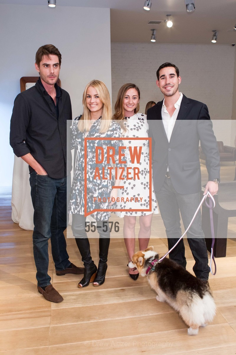 William George, Amanda Hearst, Rebecca Miller, George Revel, SF FALL ANTIQUES SHOW Designer's Circle Cocktail Party at HEWN, US, September 23rd, 2014,Drew Altizer, Drew Altizer Photography, full-service event agency, private events, San Francisco photographer, photographer California