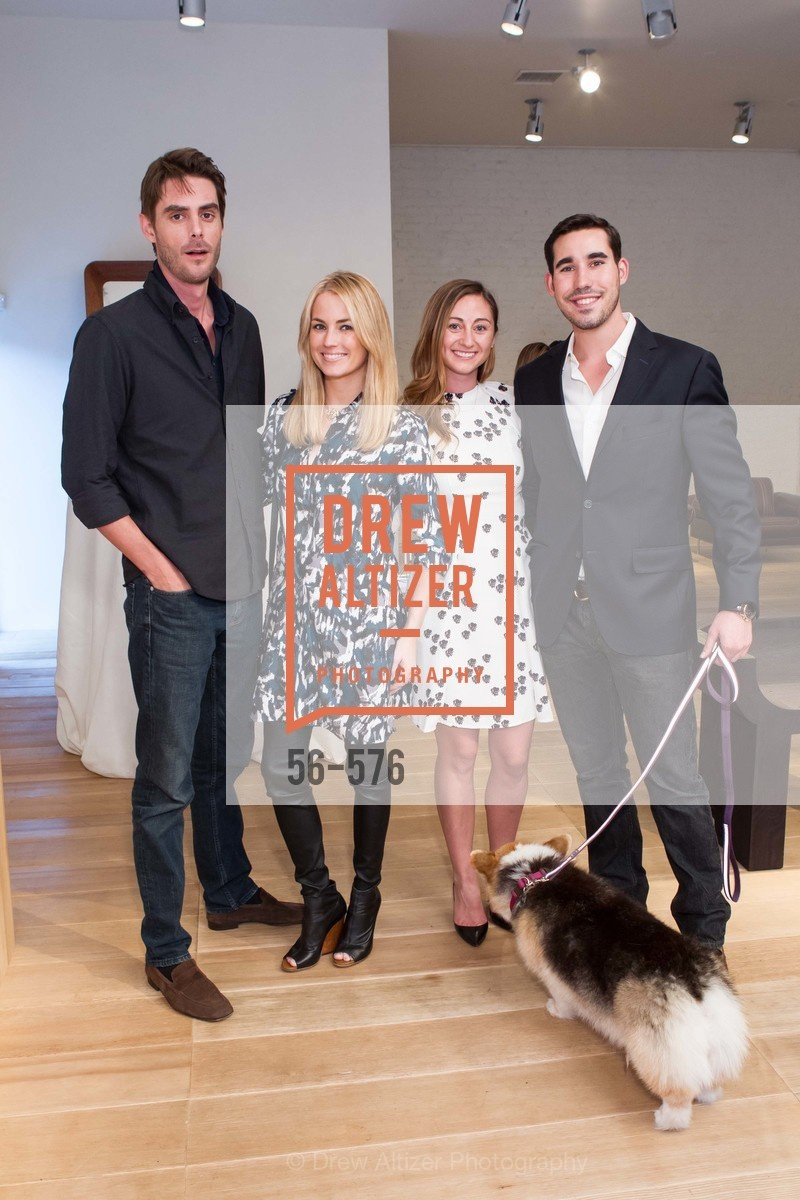 William George, Amanda Hearst, Rebecca Miller, George Revel, SF FALL ANTIQUES SHOW Designer's Circle Cocktail Party at HEWN, US, September 23rd, 2014,Drew Altizer, Drew Altizer Photography, full-service agency, private events, San Francisco photographer, photographer california
