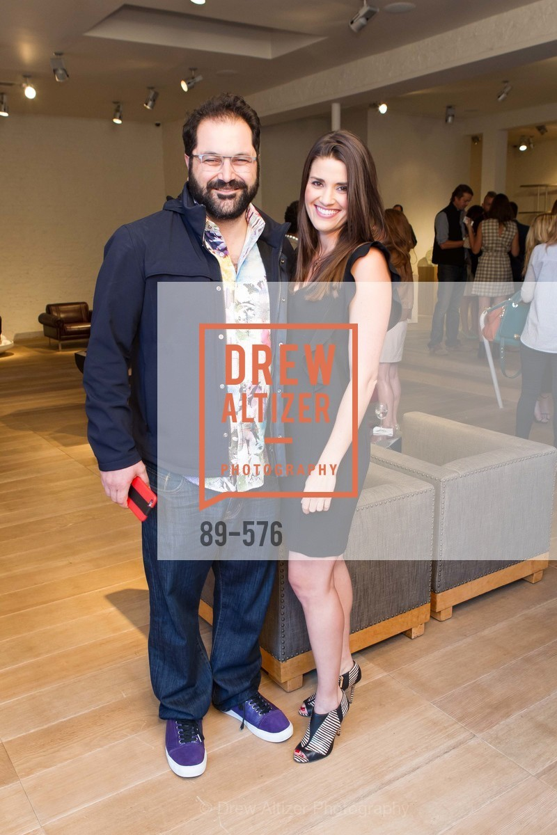 Shervin Pishevar, Meredith Kendall, SF FALL ANTIQUES SHOW Designer's Circle Cocktail Party at HEWN, US, September 23rd, 2014,Drew Altizer, Drew Altizer Photography, full-service agency, private events, San Francisco photographer, photographer california