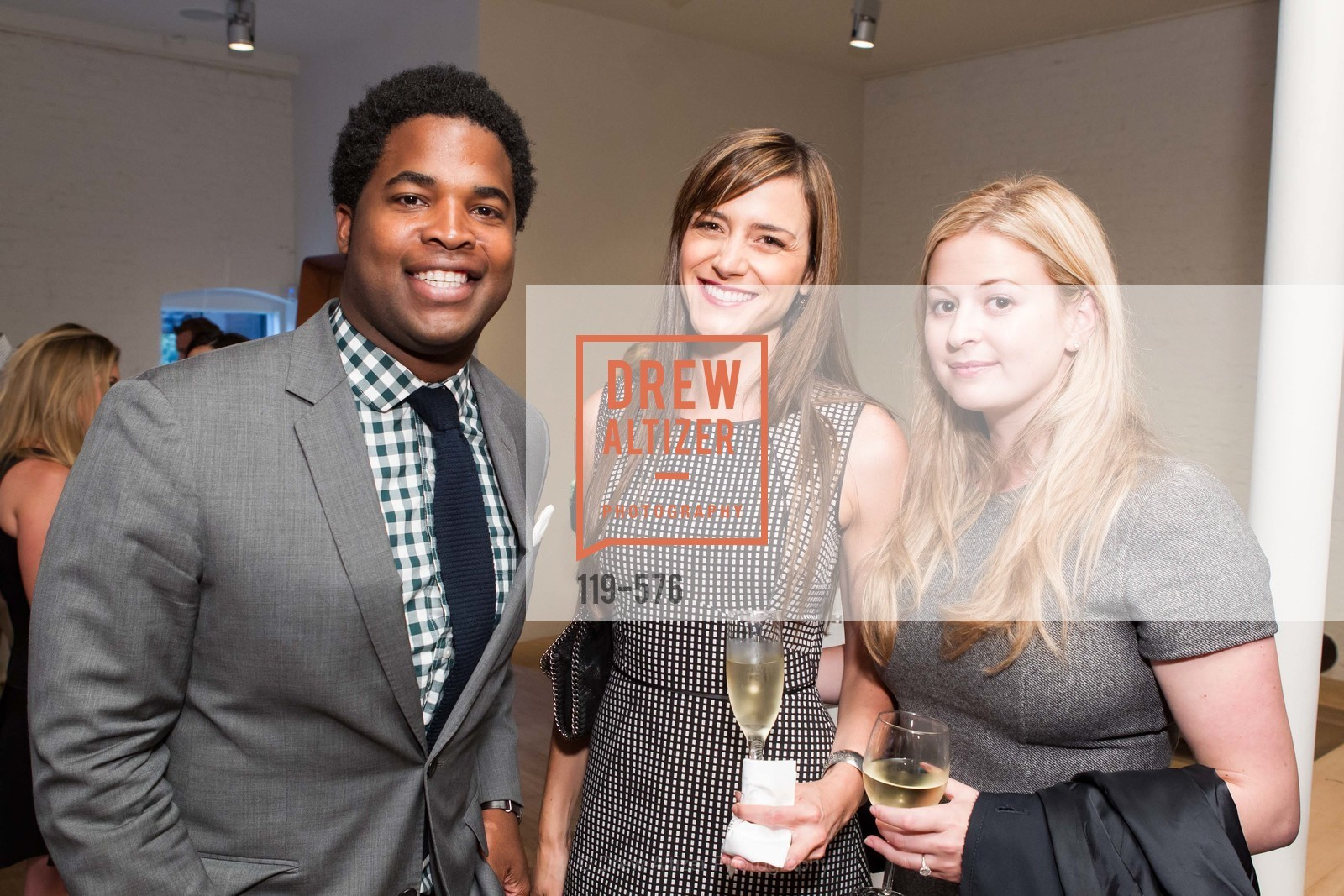 Baldwin Cunningham, Darya Rose, Alex Williams, SF FALL ANTIQUES SHOW Designer's Circle Cocktail Party at HEWN, US, September 23rd, 2014,Drew Altizer, Drew Altizer Photography, full-service agency, private events, San Francisco photographer, photographer california