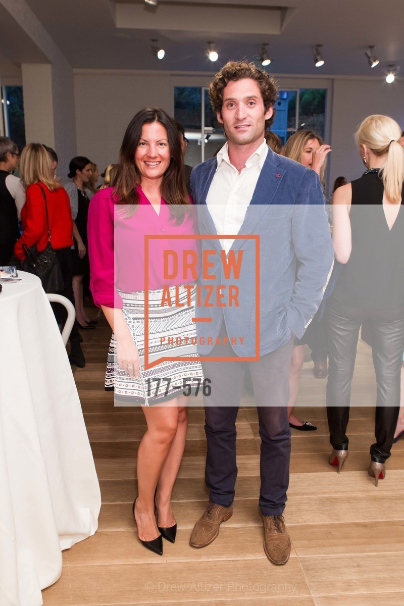 Zen St. Clair, Justin Fichelson, SF FALL ANTIQUES SHOW Designer's Circle Cocktail Party at HEWN, US, September 23rd, 2014,Drew Altizer, Drew Altizer Photography, full-service agency, private events, San Francisco photographer, photographer california