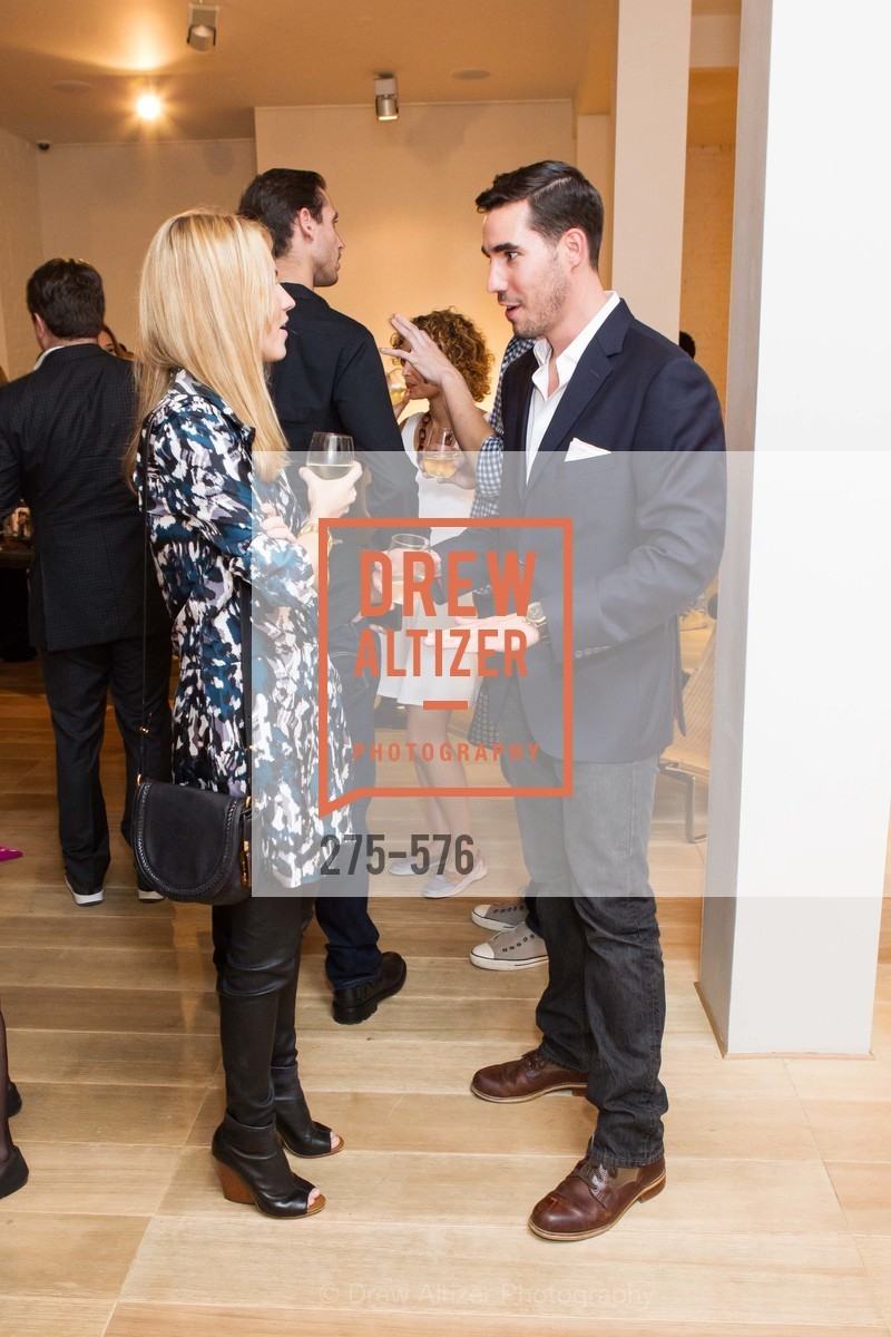 Amanda Hearst, George Revel, SF FALL ANTIQUES SHOW Designer's Circle Cocktail Party at HEWN, US, September 23rd, 2014,Drew Altizer, Drew Altizer Photography, full-service agency, private events, San Francisco photographer, photographer california