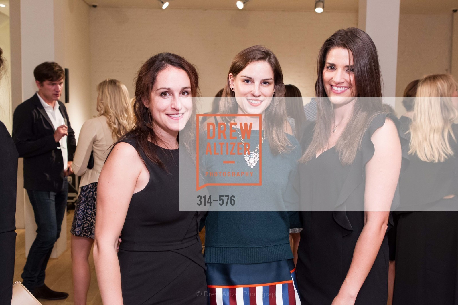 Kate Botler, Kathryn Duryea, Meredith Kendall, SF FALL ANTIQUES SHOW Designer's Circle Cocktail Party at HEWN, US, September 23rd, 2014,Drew Altizer, Drew Altizer Photography, full-service agency, private events, San Francisco photographer, photographer california