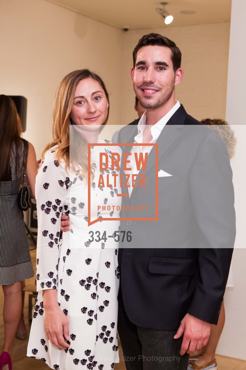 Rebecca Miller, George Revel, SF FALL ANTIQUES SHOW Designer's Circle Cocktail Party at HEWN, US, September 23rd, 2014,Drew Altizer, Drew Altizer Photography, full-service agency, private events, San Francisco photographer, photographer california