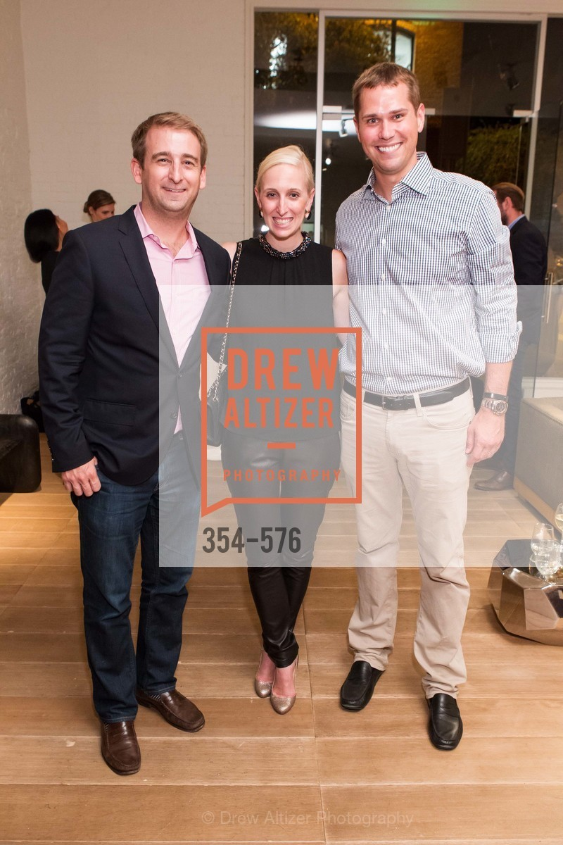 Chris Hemphill, Maria Hemphill, David Lyman, SF FALL ANTIQUES SHOW Designer's Circle Cocktail Party at HEWN, US, September 23rd, 2014,Drew Altizer, Drew Altizer Photography, full-service event agency, private events, San Francisco photographer, photographer California