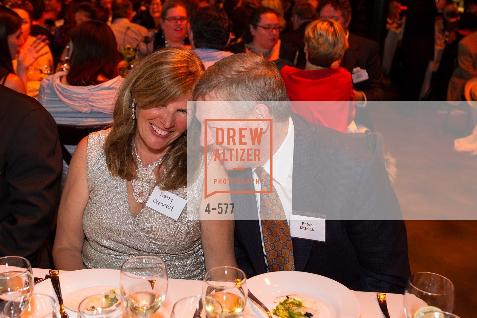 Kathy Crawford, Peter Sittnick, SF-MARIN FOOD BANK One Big Table Gala, US, September 27th, 2014,Drew Altizer, Drew Altizer Photography, full-service agency, private events, San Francisco photographer, photographer california