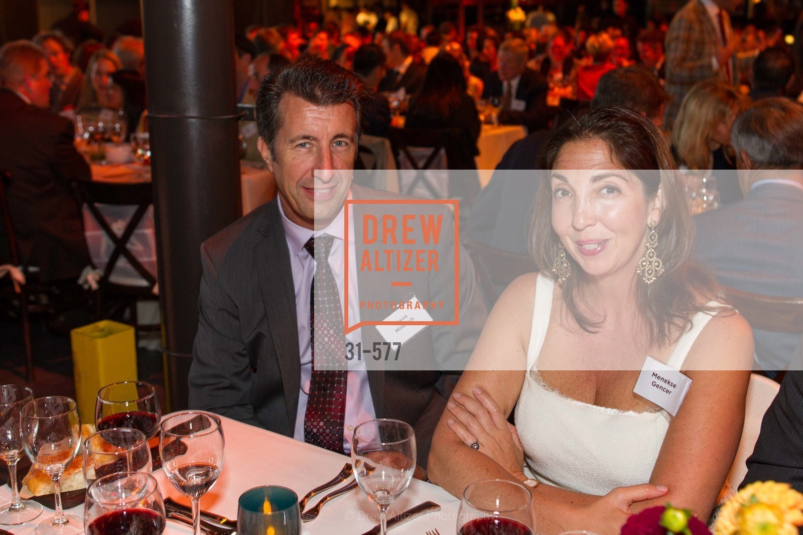 Steve Milovich, Menekse Gencer, SF-MARIN FOOD BANK One Big Table Gala, US, September 27th, 2014,Drew Altizer, Drew Altizer Photography, full-service agency, private events, San Francisco photographer, photographer california
