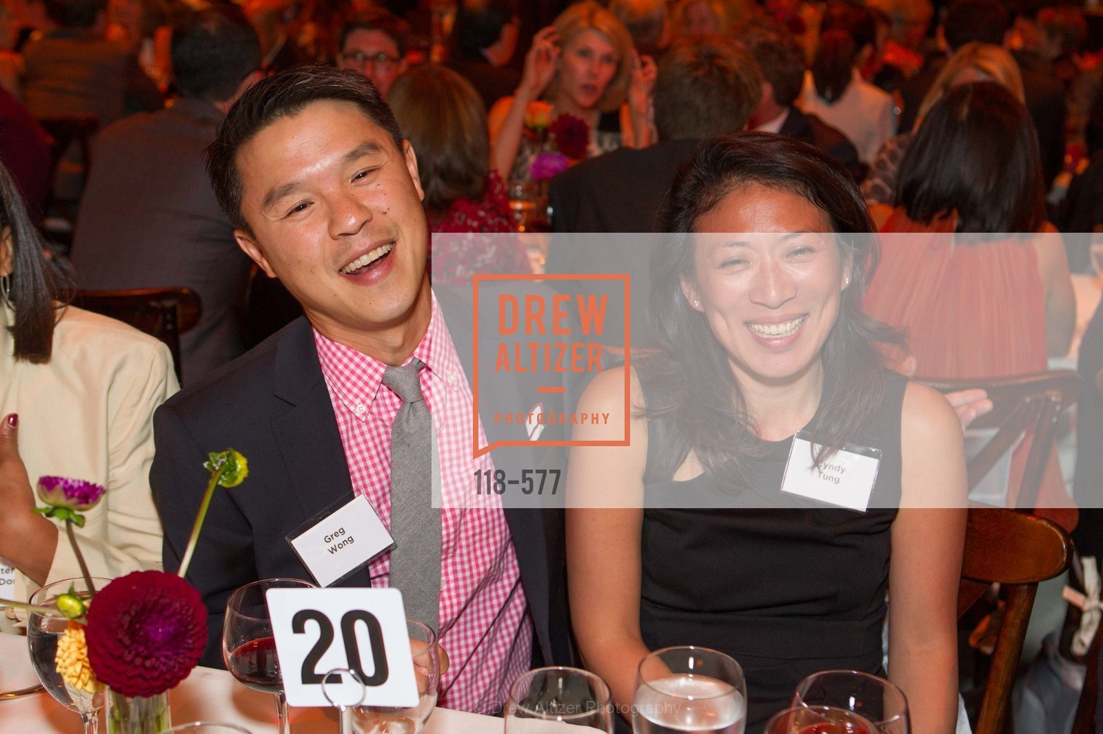 Greg Wong, Cyndy Tung, SF-MARIN FOOD BANK One Big Table Gala, US, September 27th, 2014,Drew Altizer, Drew Altizer Photography, full-service agency, private events, San Francisco photographer, photographer california