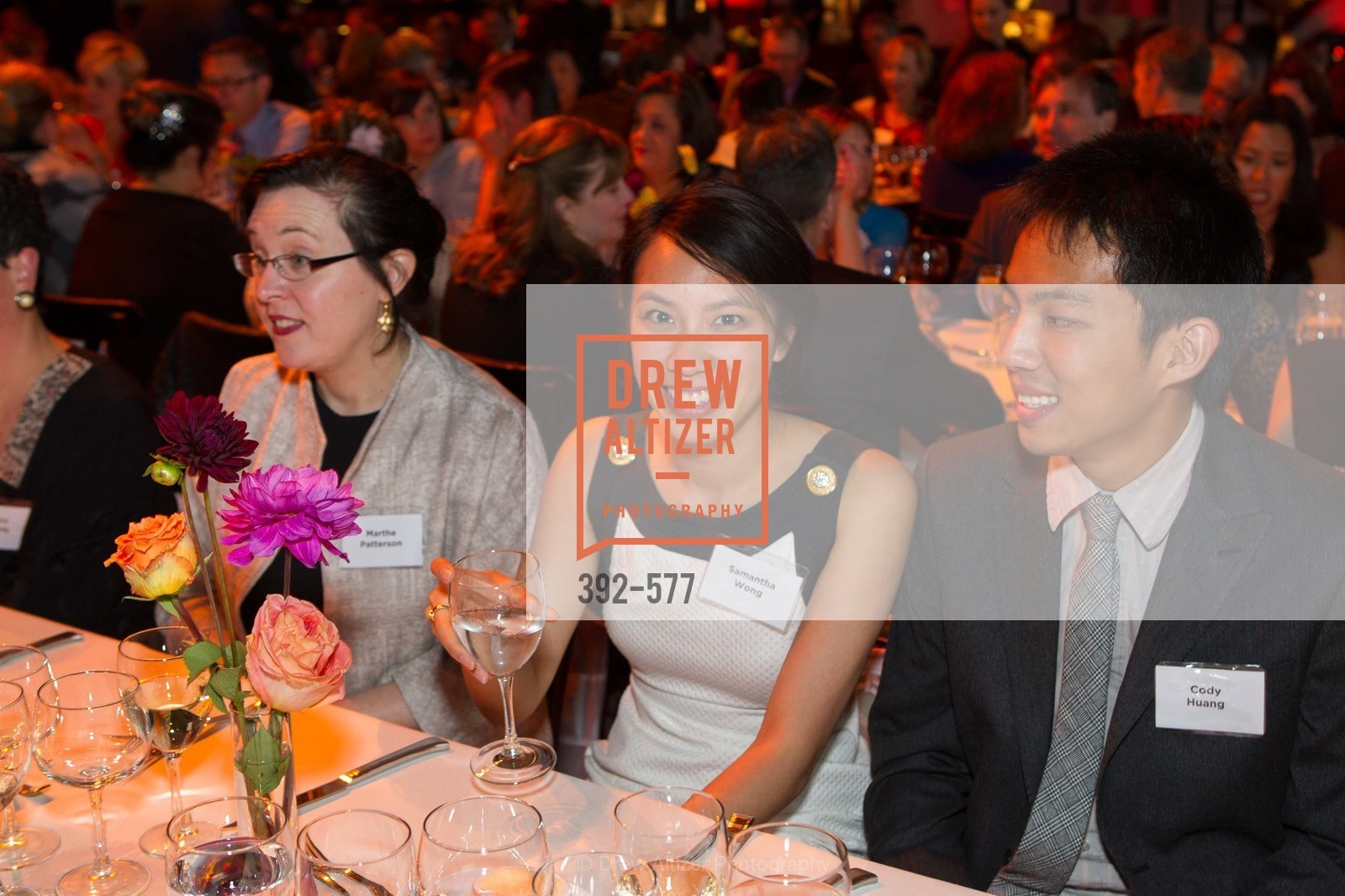 Marthe Patterson, Samantha Wong, Cody Huang, SF-MARIN FOOD BANK One Big Table Gala, US, September 27th, 2014,Drew Altizer, Drew Altizer Photography, full-service agency, private events, San Francisco photographer, photographer california