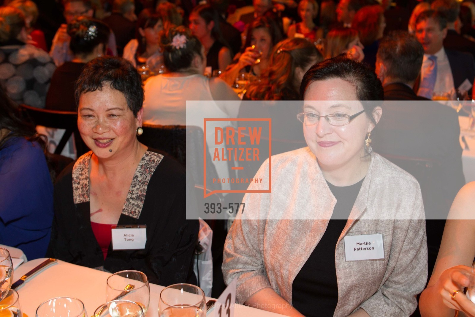 Alcia Tong, Marthe Patterson, SF-MARIN FOOD BANK One Big Table Gala, US, September 27th, 2014,Drew Altizer, Drew Altizer Photography, full-service agency, private events, San Francisco photographer, photographer california