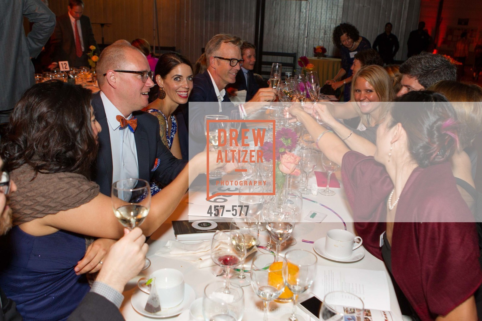 Andy Finnell, Elaine Finnell, Holly Reeves, SF-MARIN FOOD BANK One Big Table Gala, US, September 27th, 2014