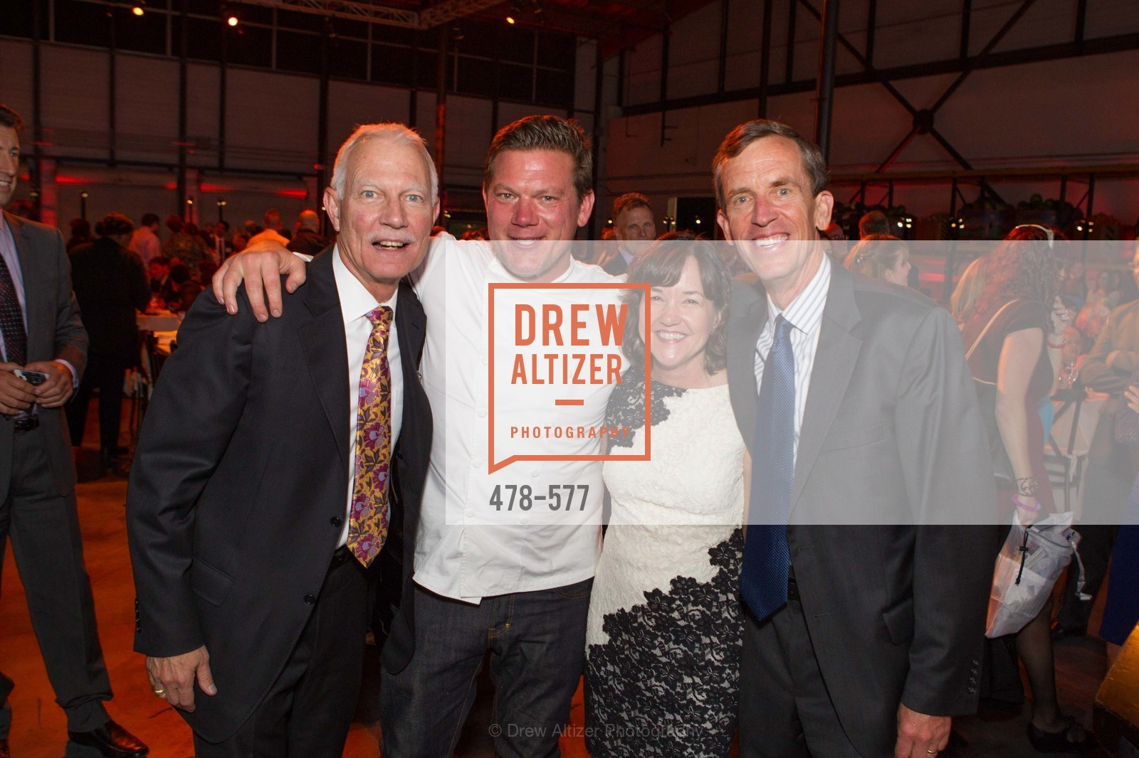 Paul Ash, Leslie Bacho, Tyler Florence, Timothy Geraghty, SF-MARIN FOOD BANK One Big Table Gala, US, September 27th, 2014,Drew Altizer, Drew Altizer Photography, full-service agency, private events, San Francisco photographer, photographer california