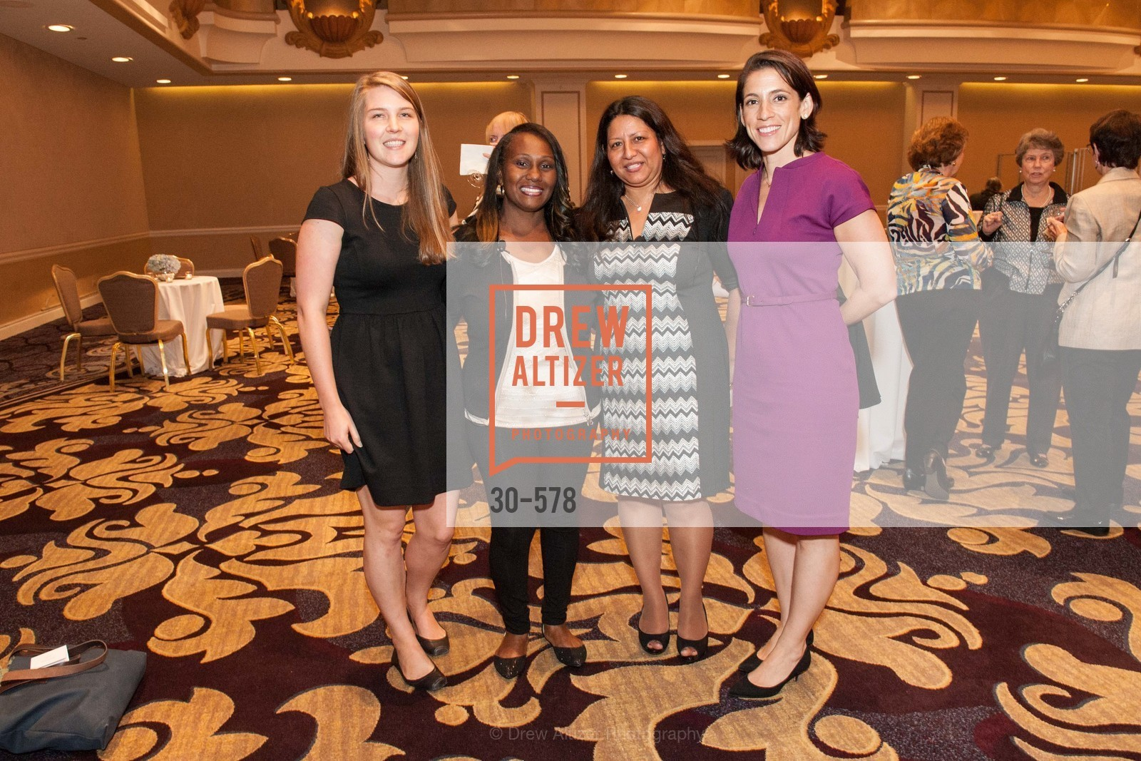 Stephanie Bemong, Carla Roberts, Sonya Batres, Jen Pitts, HOMELESS PRENATAL Annual Luncheon 2014, US, October 1st, 2014,Drew Altizer, Drew Altizer Photography, full-service agency, private events, San Francisco photographer, photographer california