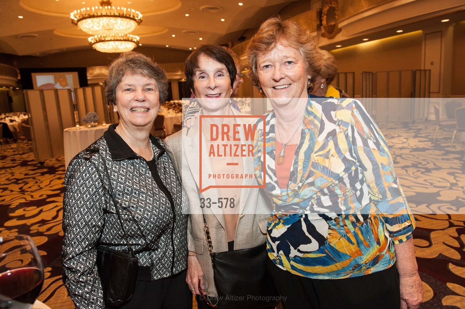 Sister Judy Carle, Mary Rudden, Martha Ryan, HOMELESS PRENATAL Annual Luncheon 2014, US, October 1st, 2014,Drew Altizer, Drew Altizer Photography, full-service agency, private events, San Francisco photographer, photographer california