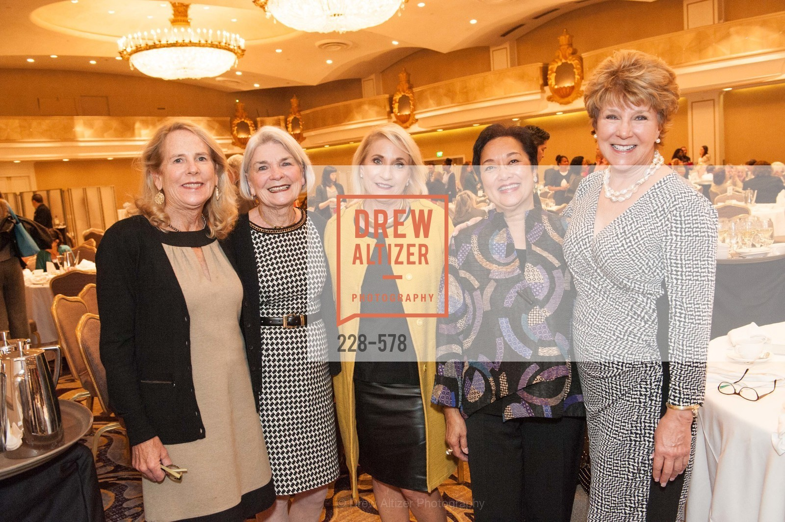 Bessie Strom, Dolores Mckeever Donahue, Deborah Avakian, Eva Monroe, Christine Wheelan, HOMELESS PRENATAL Annual Luncheon 2014, US, September 30th, 2014,Drew Altizer, Drew Altizer Photography, full-service agency, private events, San Francisco photographer, photographer california