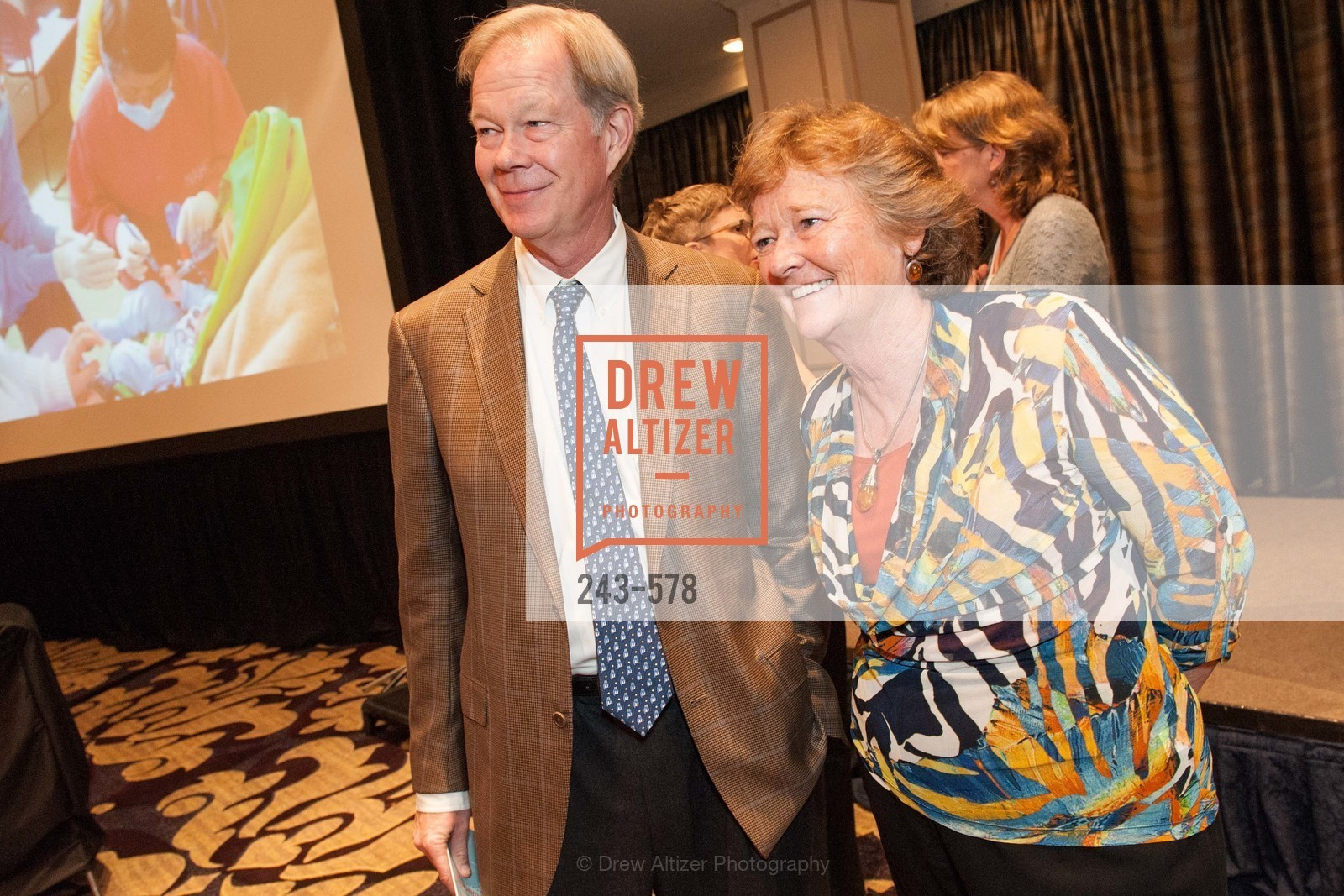 George Jewett, Martha Ryan, HOMELESS PRENATAL Annual Luncheon 2014, US, September 30th, 2014,Drew Altizer, Drew Altizer Photography, full-service agency, private events, San Francisco photographer, photographer california