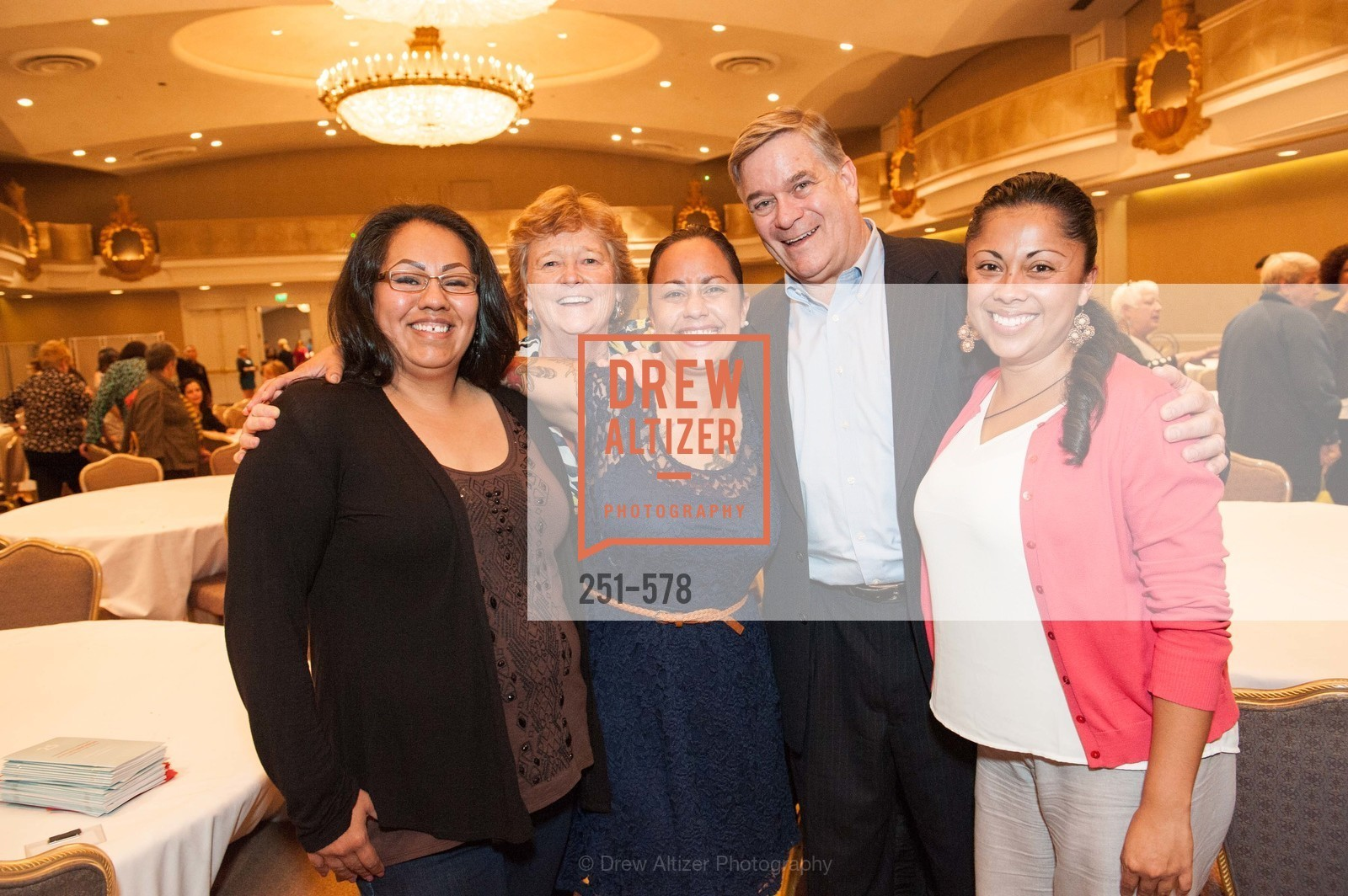 Alma Vasquez, Martha Ryan, Lyn LaHuerta, Dan MacDonald, Karla Ayala, HOMELESS PRENATAL Annual Luncheon 2014, US, October 1st, 2014,Drew Altizer, Drew Altizer Photography, full-service agency, private events, San Francisco photographer, photographer california