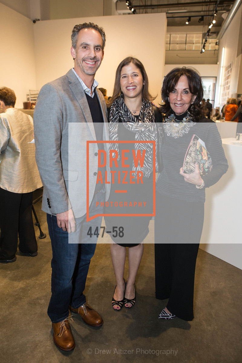 Jeremy Kaplan, Silvia Kaplan, Alyce Kaplan, Design10 Anniversary Auction Hosted by the Museum of Craft and Design, Museum of Craft and Design, April 24th, 2015,Drew Altizer, Drew Altizer Photography, full-service agency, private events, San Francisco photographer, photographer california