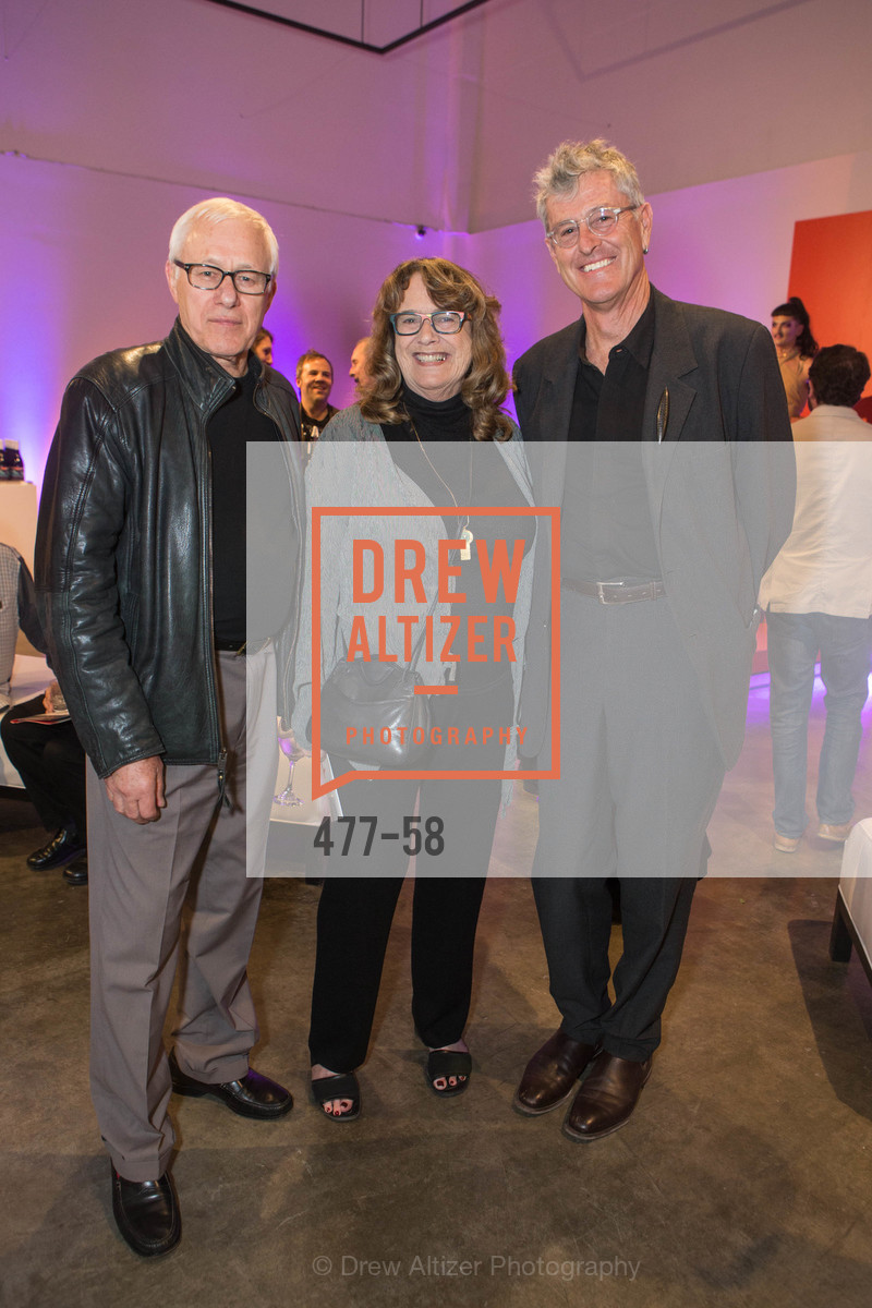 Paul Karlstrom, Sylvia Bennett, Donald Fortescue, Design10 Anniversary Auction Hosted by the Museum of Craft and Design, Museum of Craft and Design, April 24th, 2015,Drew Altizer, Drew Altizer Photography, full-service agency, private events, San Francisco photographer, photographer california
