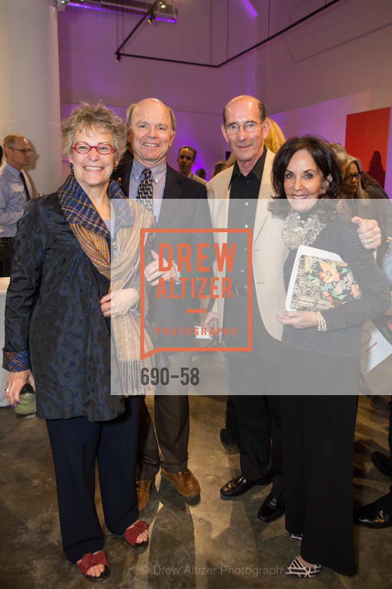 Jamie Studley, Gary Smith, Steve Kaplan, Alyce Kaplan, Design10 Anniversary Auction Hosted by the Museum of Craft and Design, Museum of Craft and Design, April 24th, 2015,Drew Altizer, Drew Altizer Photography, full-service agency, private events, San Francisco photographer, photographer california