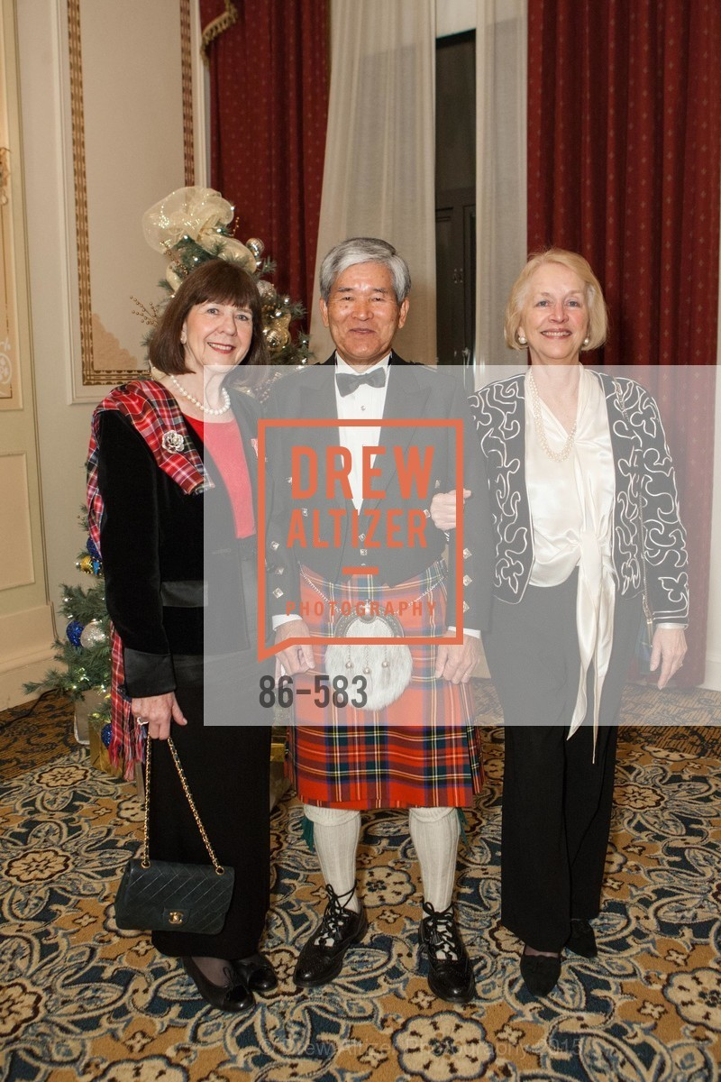 Kathleen Kimura, Kozo Kimura, Dianne MacLeod, St. Andrew's Society of San Francisco Annual Banquet and Ball 2015, Marines' Memorial Club & Hotel. 609 Sutter St, November 28th, 2015,Drew Altizer, Drew Altizer Photography, full-service agency, private events, San Francisco photographer, photographer california